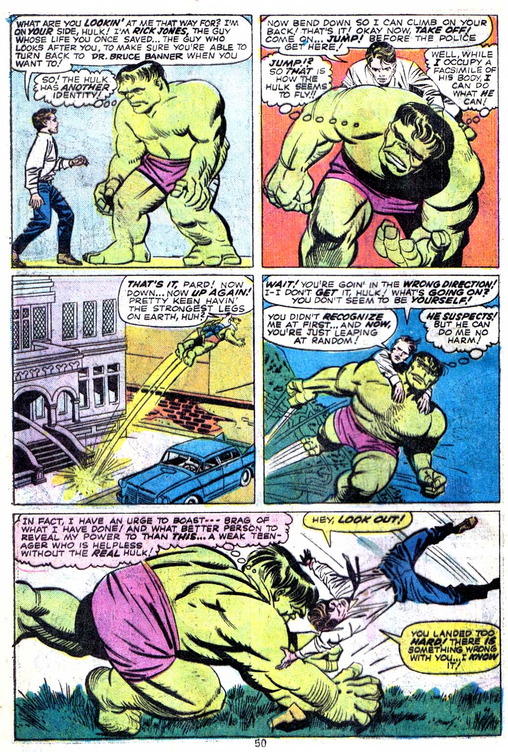 Giant-Size Avengers (1974) issue 3 - Page 52