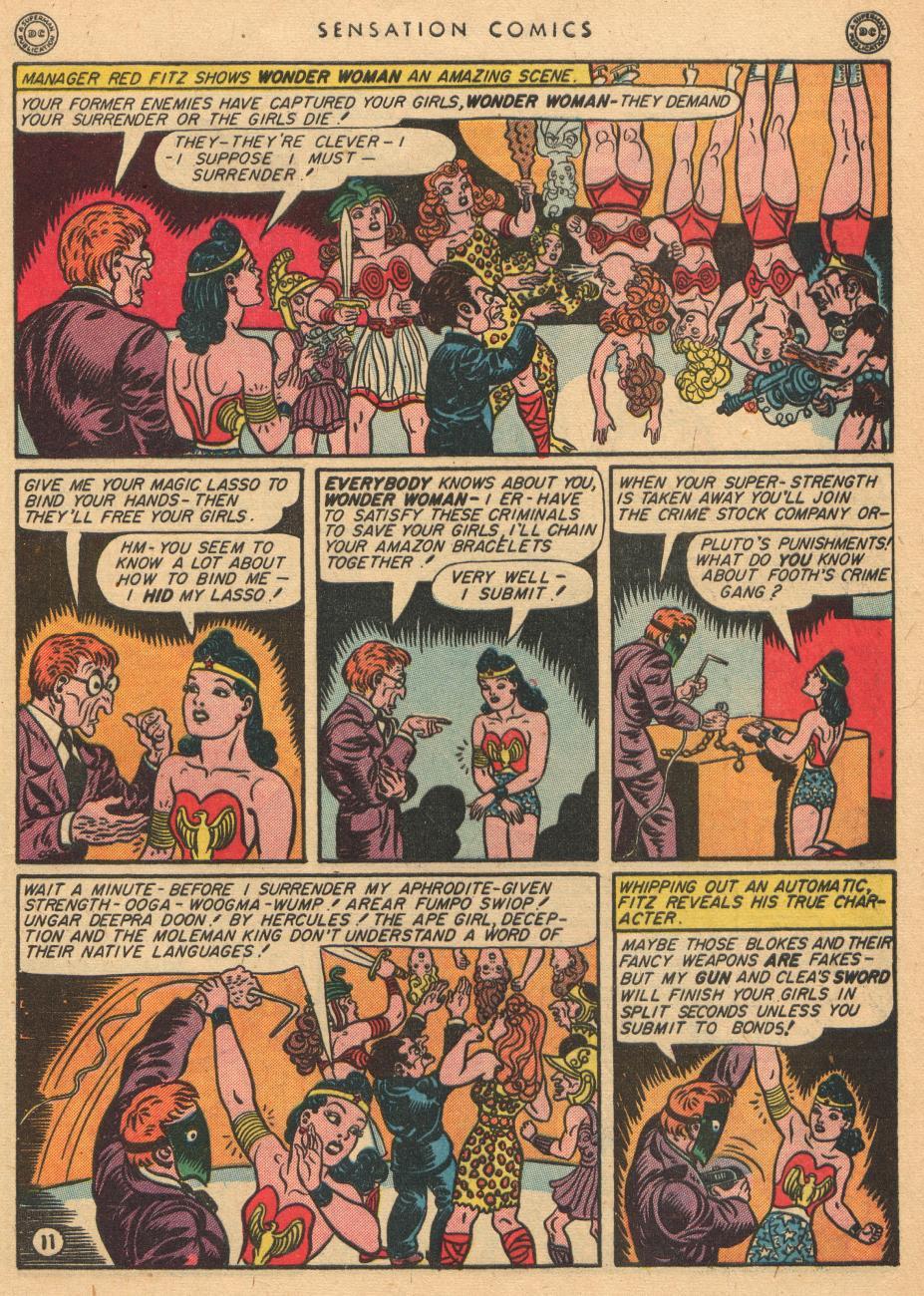 Read online Sensation (Mystery) Comics comic -  Issue #36 - 13
