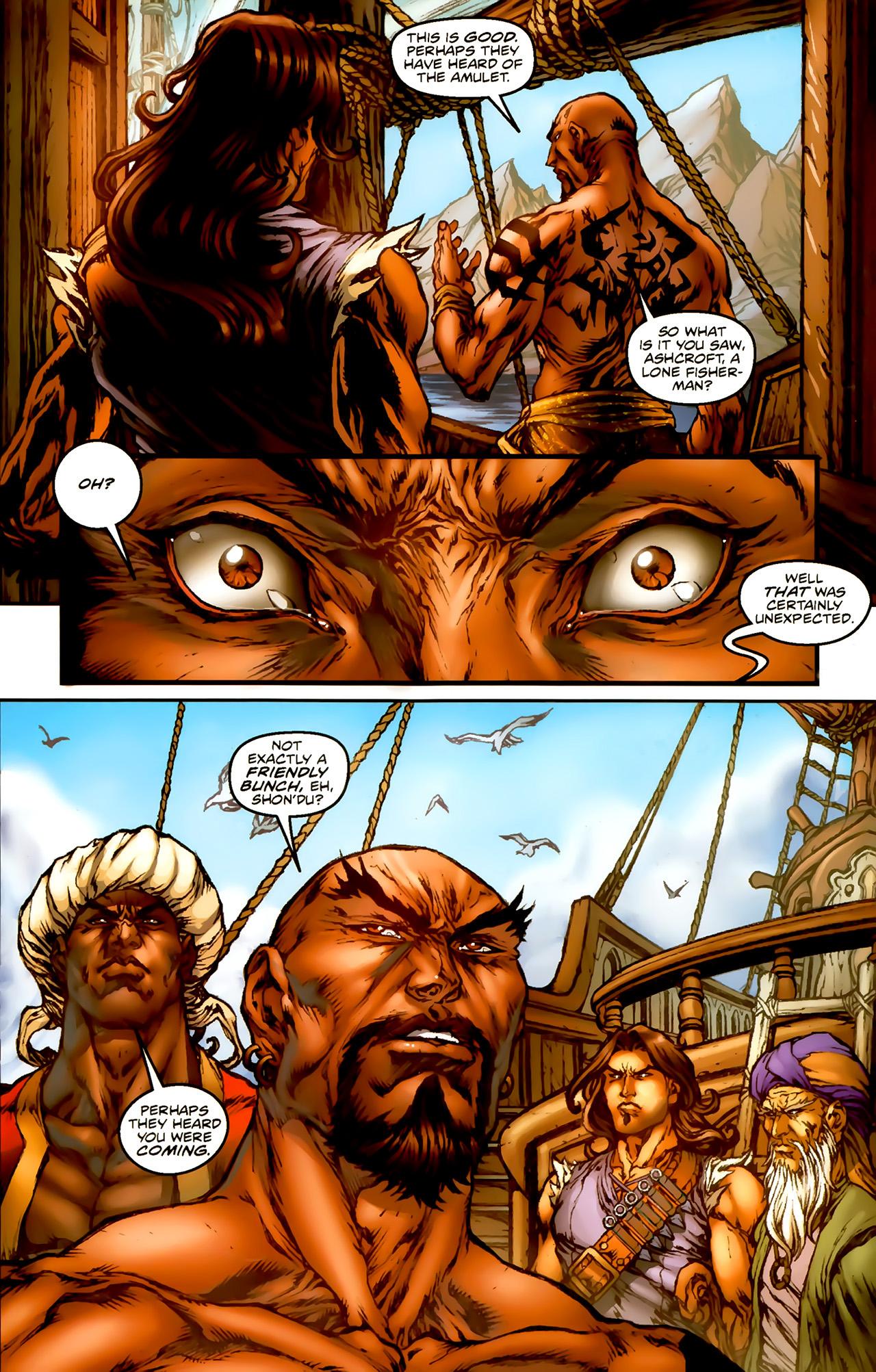 Read online 1001 Arabian Nights: The Adventures of Sinbad comic -  Issue #1 - 8
