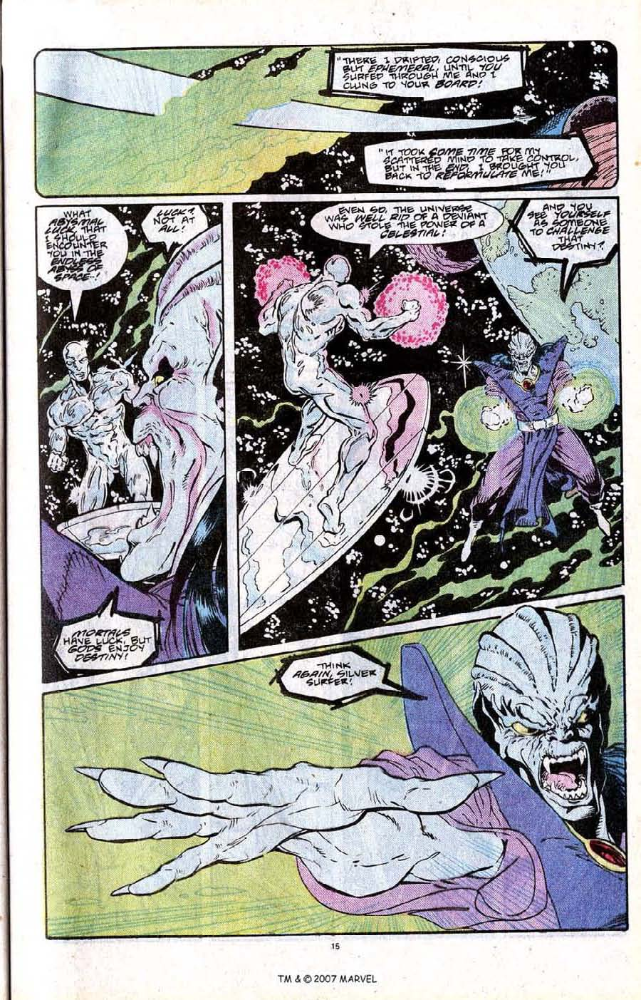 Read online Silver Surfer (1987) comic -  Issue # _Annual 2 - 17