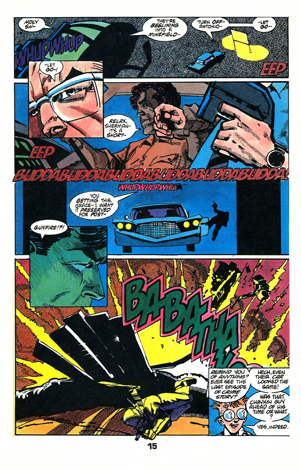 Read online American Flagg! comic -  Issue #46 - 19