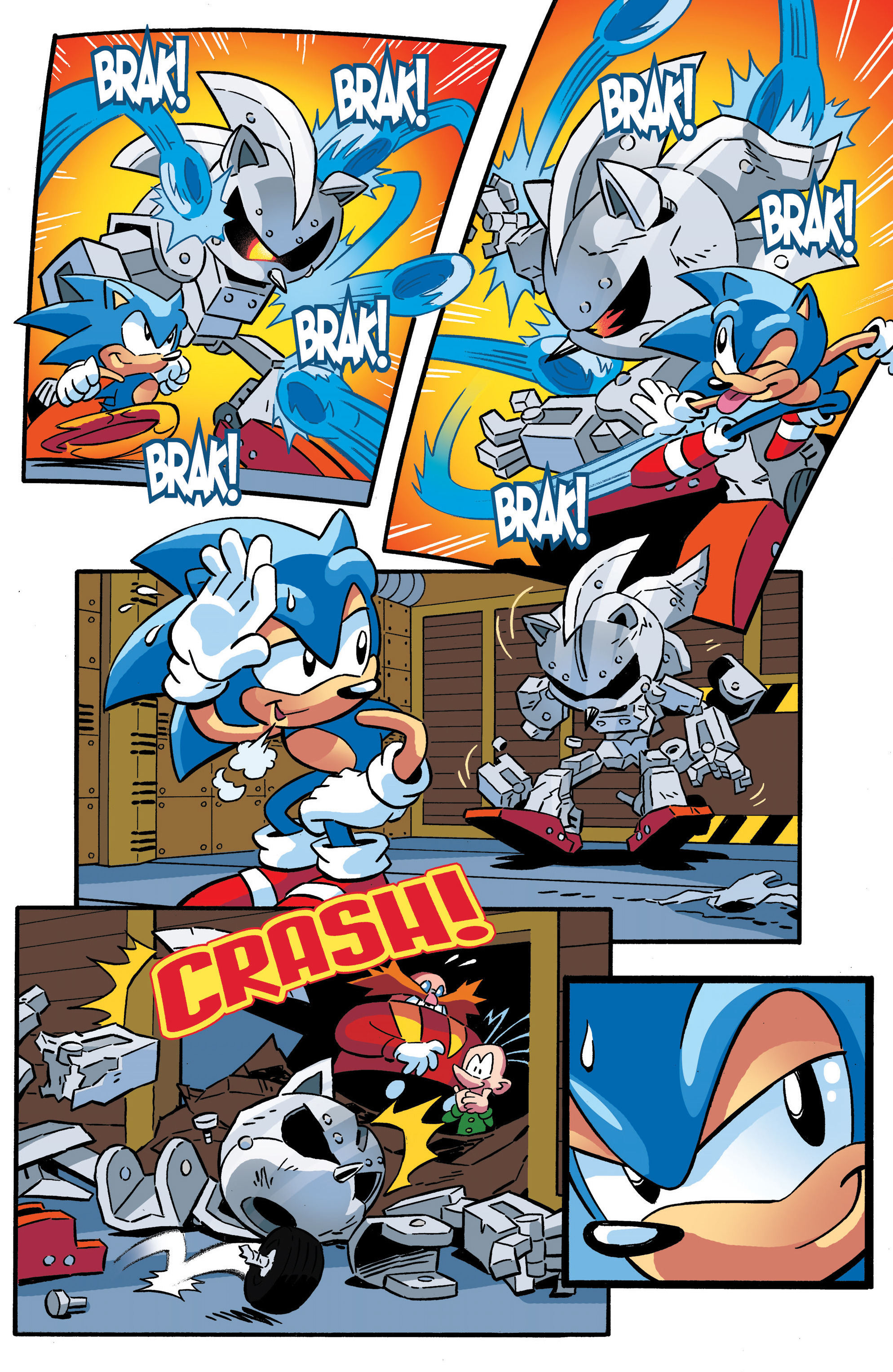 Read online Sonic The Hedgehog comic -  Issue #289 - 20