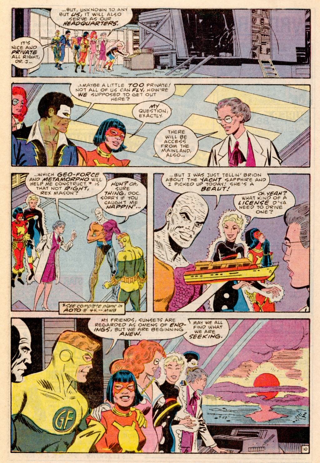 Read online Adventures of the Outsiders comic -  Issue #38 - 22
