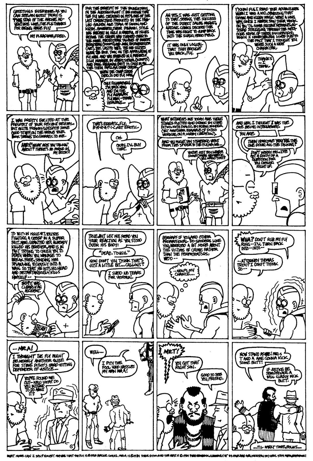 Read online The Nearly Complete Essential Hembeck Archives Omnibus comic -  Issue # TPB (Part 4) - 70