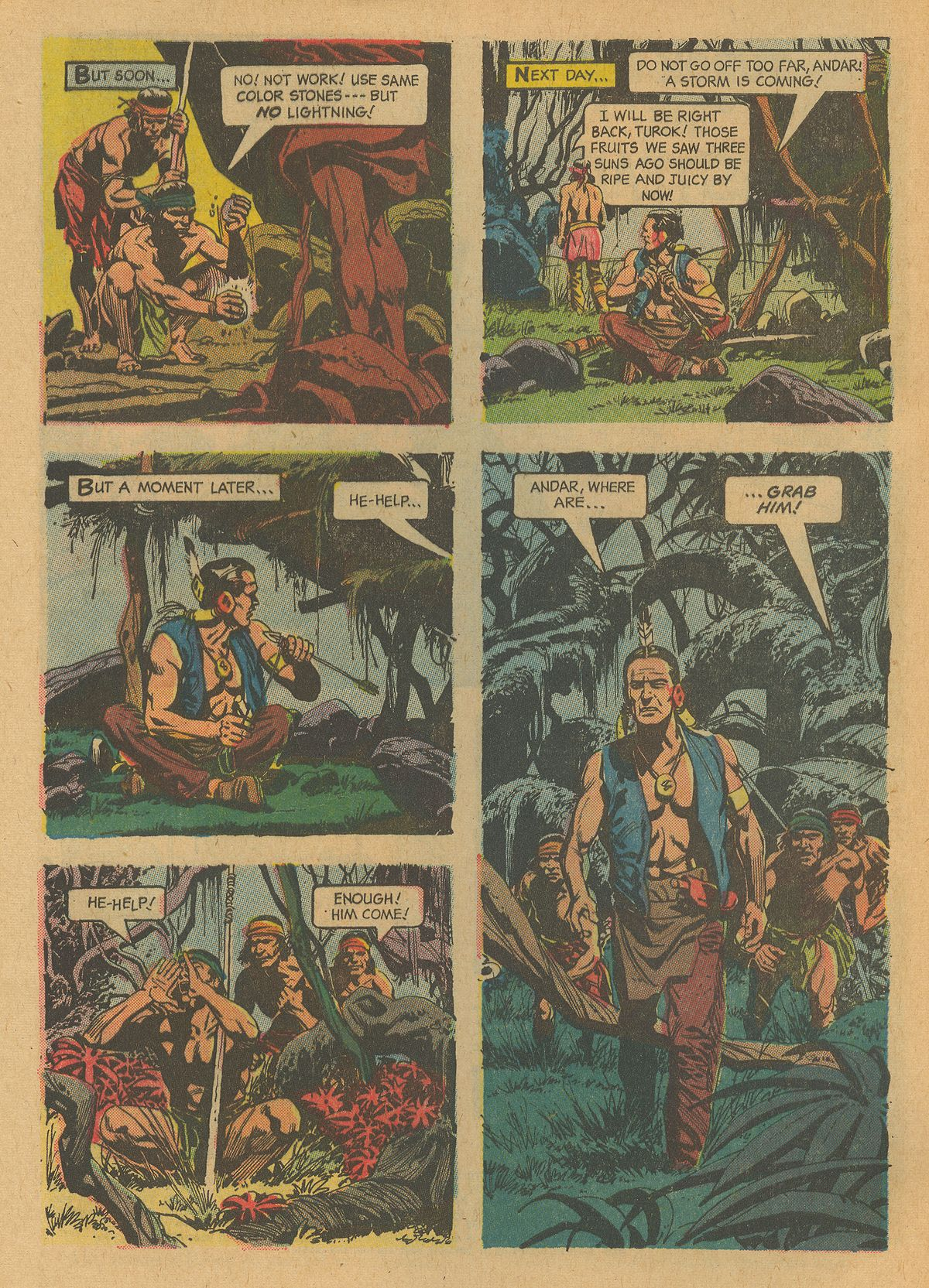 Read online Turok, Son of Stone comic -  Issue #32 - 4