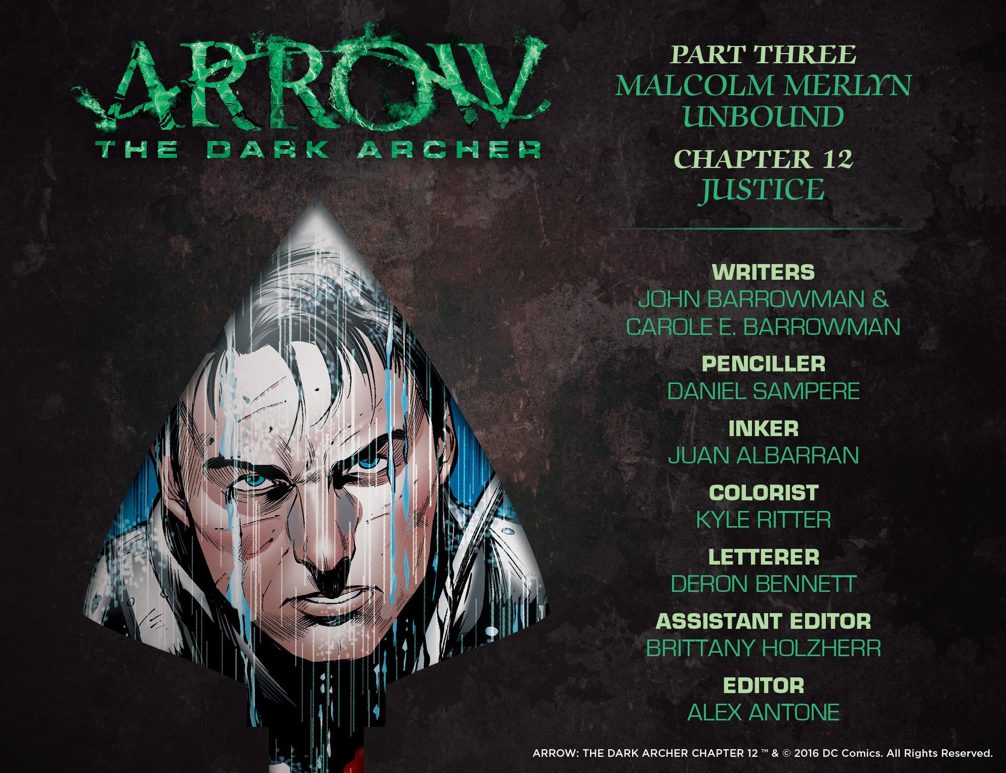 Read online Arrow: The Dark Archer comic -  Issue #12 - 2
