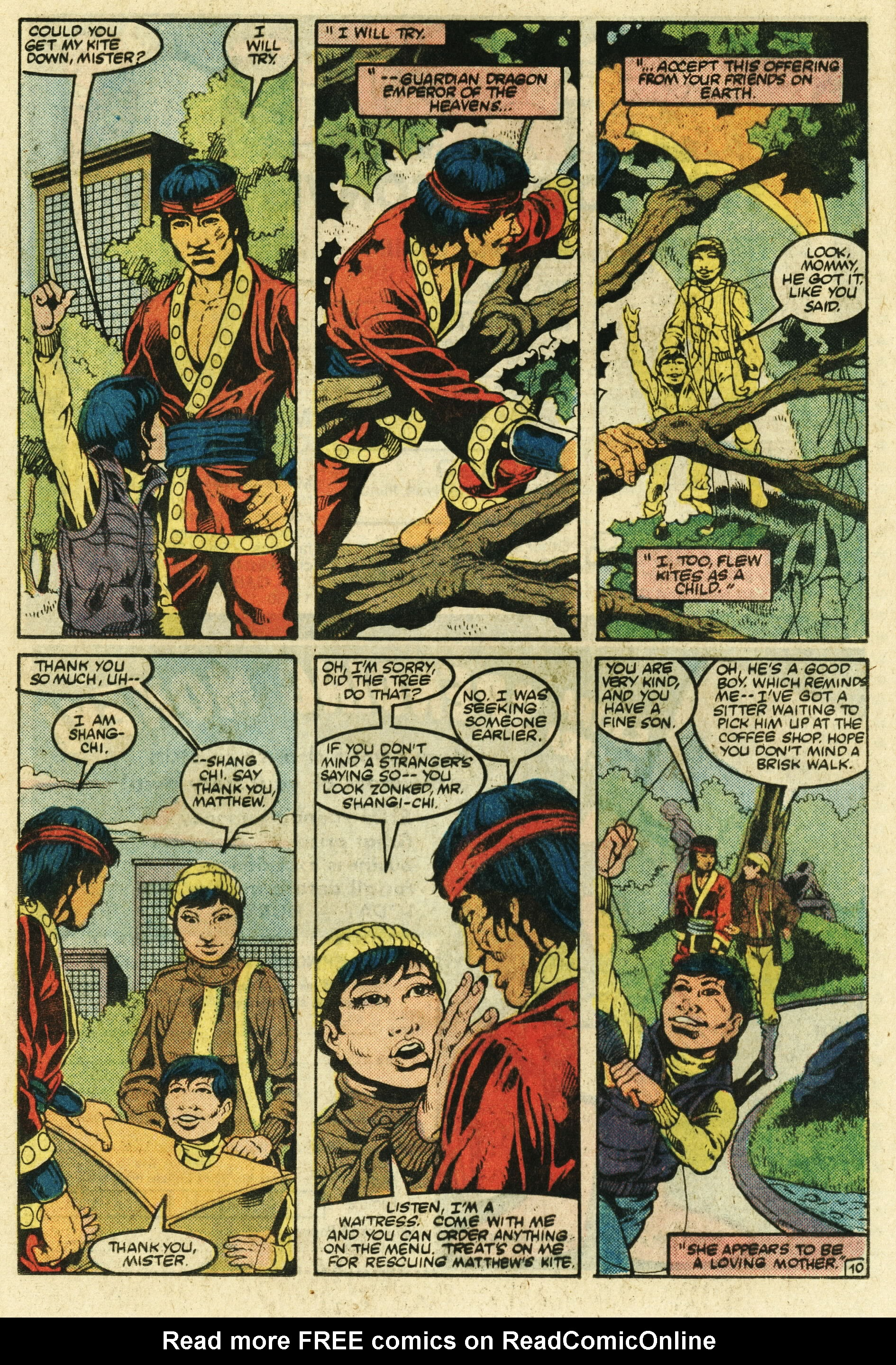 Read online Master of Kung Fu (1974) comic -  Issue #123 - 11