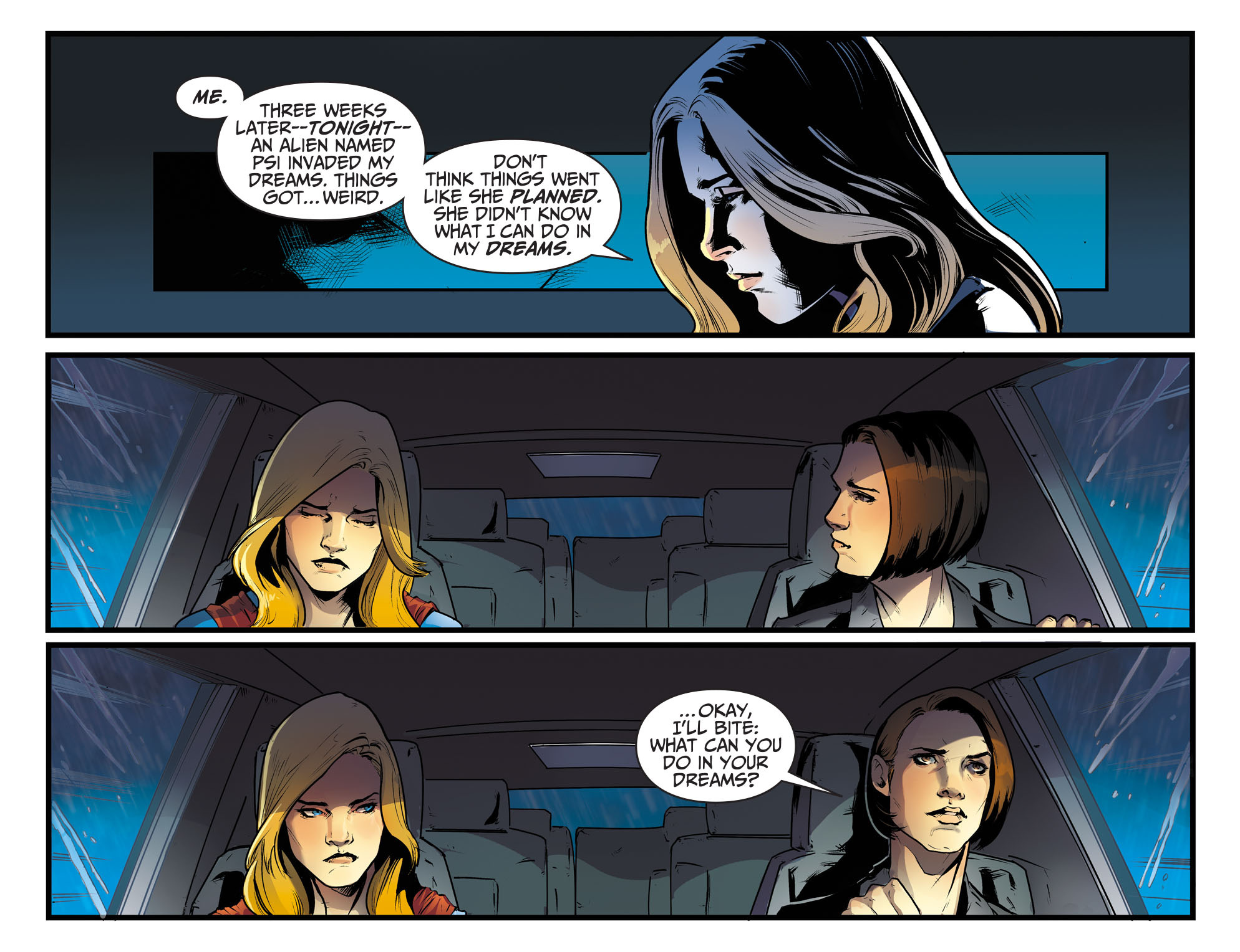 Read online Adventures of Supergirl comic -  Issue #8 - 10
