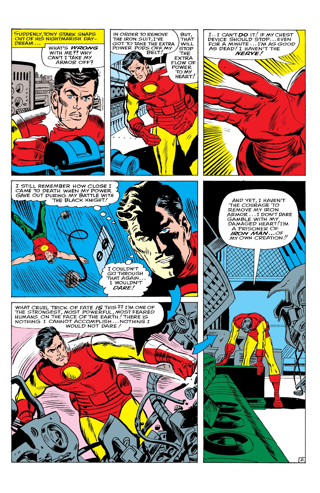 Read online Marvel Masterworks: The Invincible Iron Man comic -  Issue # TPB 2 (Part 2) - 58