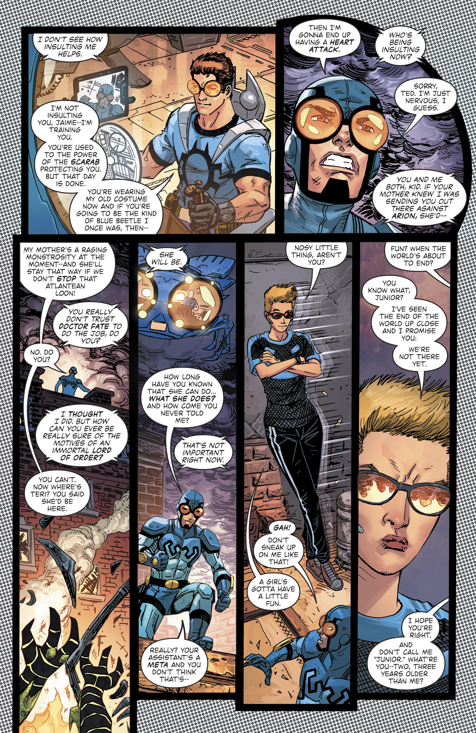 Read online Blue Beetle (2016) comic -  Issue #9 - 7
