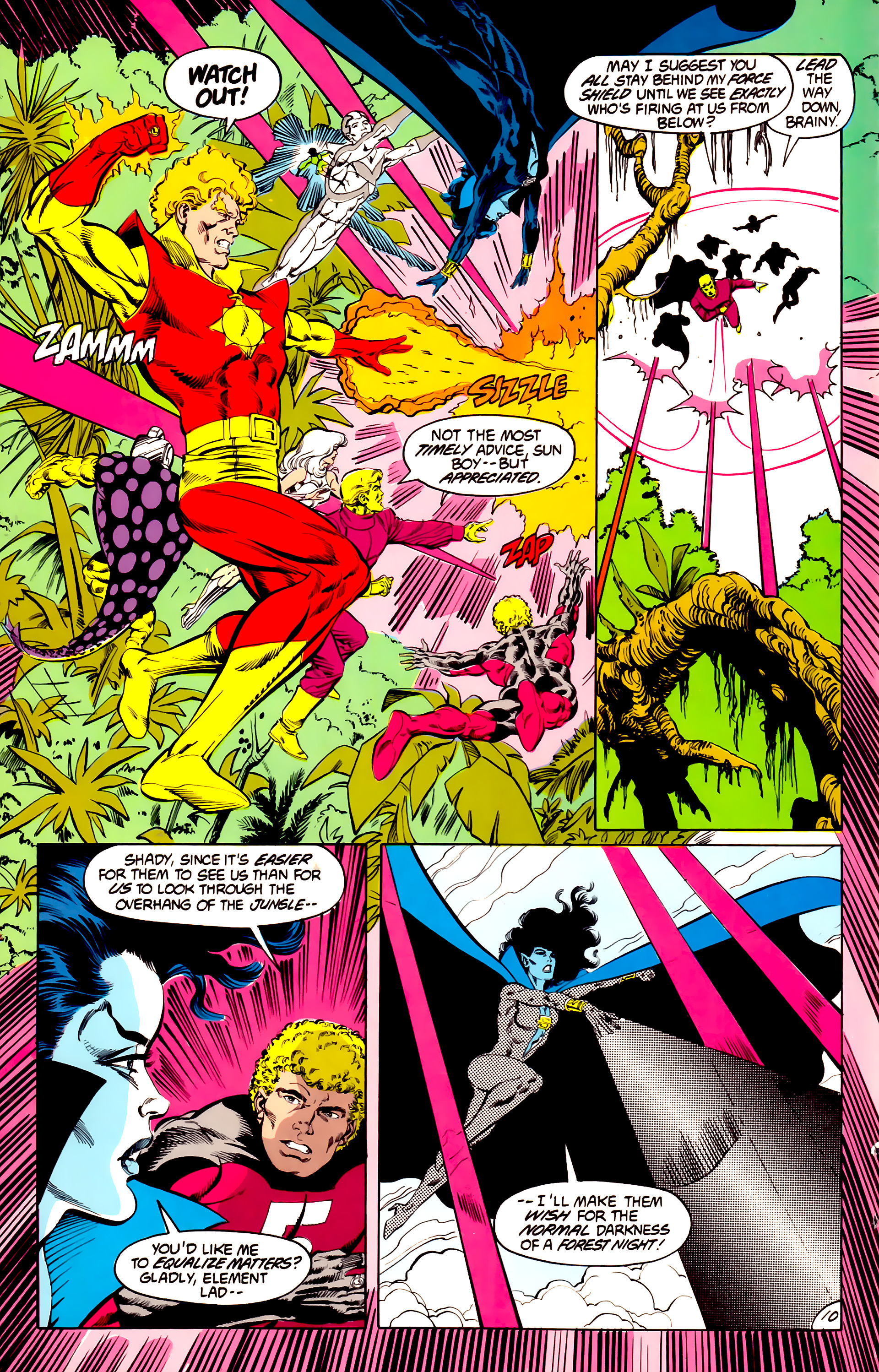 Legion of Super-Heroes (1984) 43 Page 10