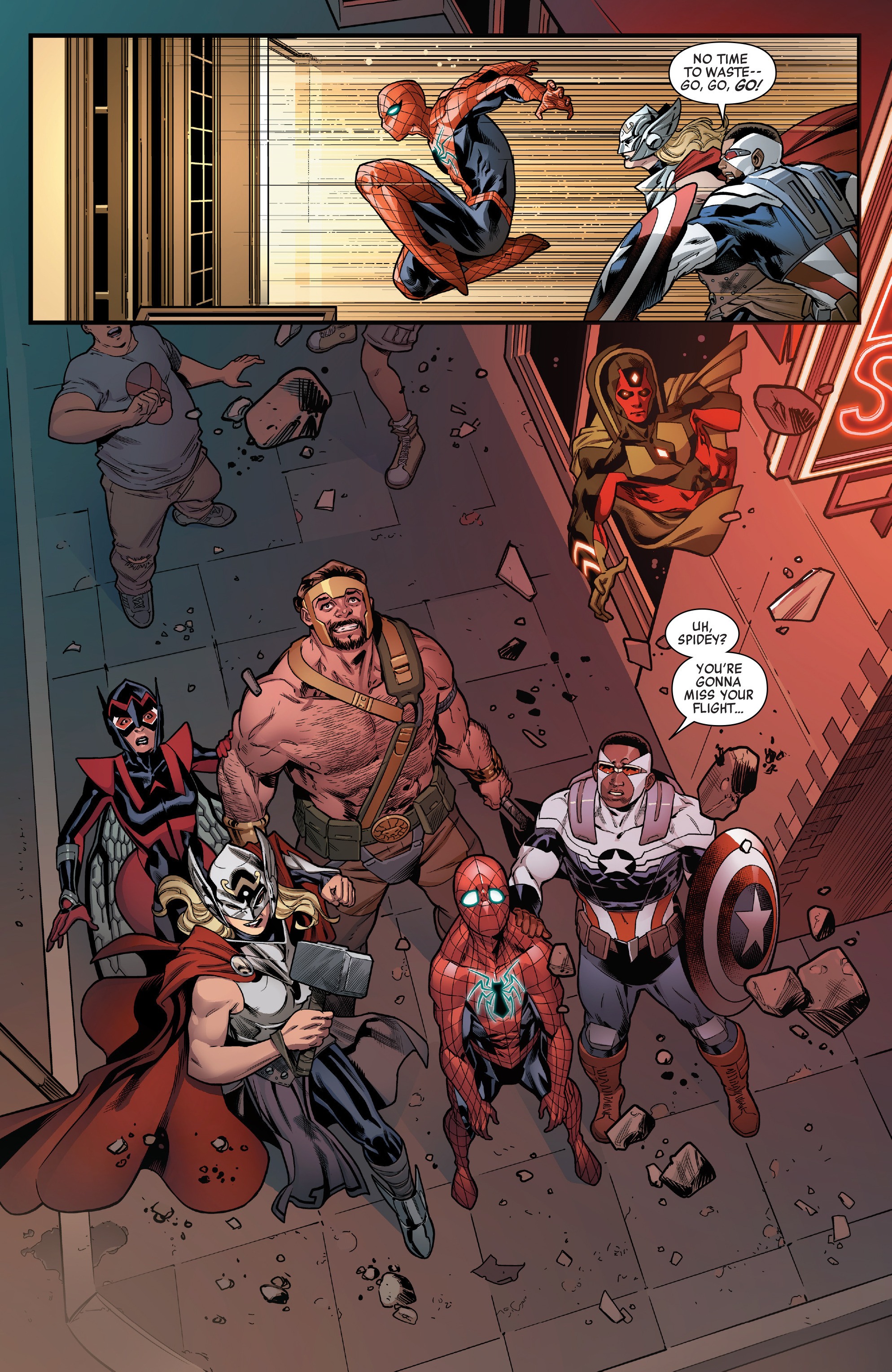 Read online Avengers (2016) comic -  Issue #1.MU - 17