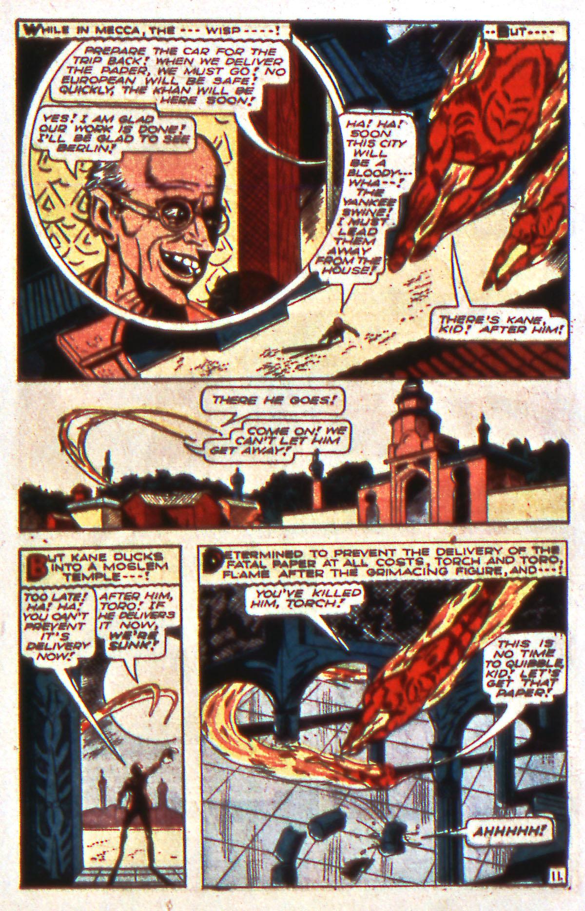 Read online All-Winners Comics comic -  Issue #12 - 13