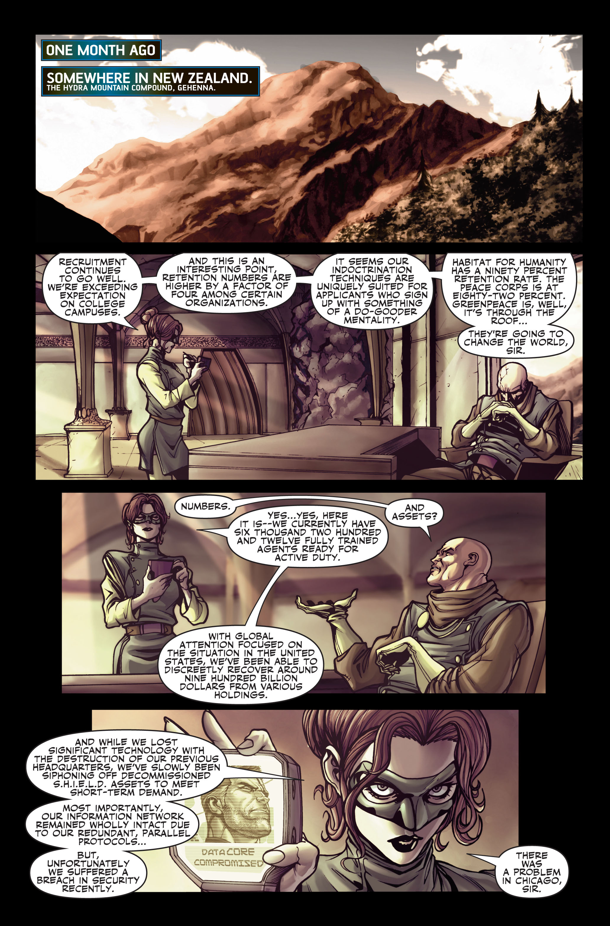 Read online Secret Warriors comic -  Issue #2 - 11
