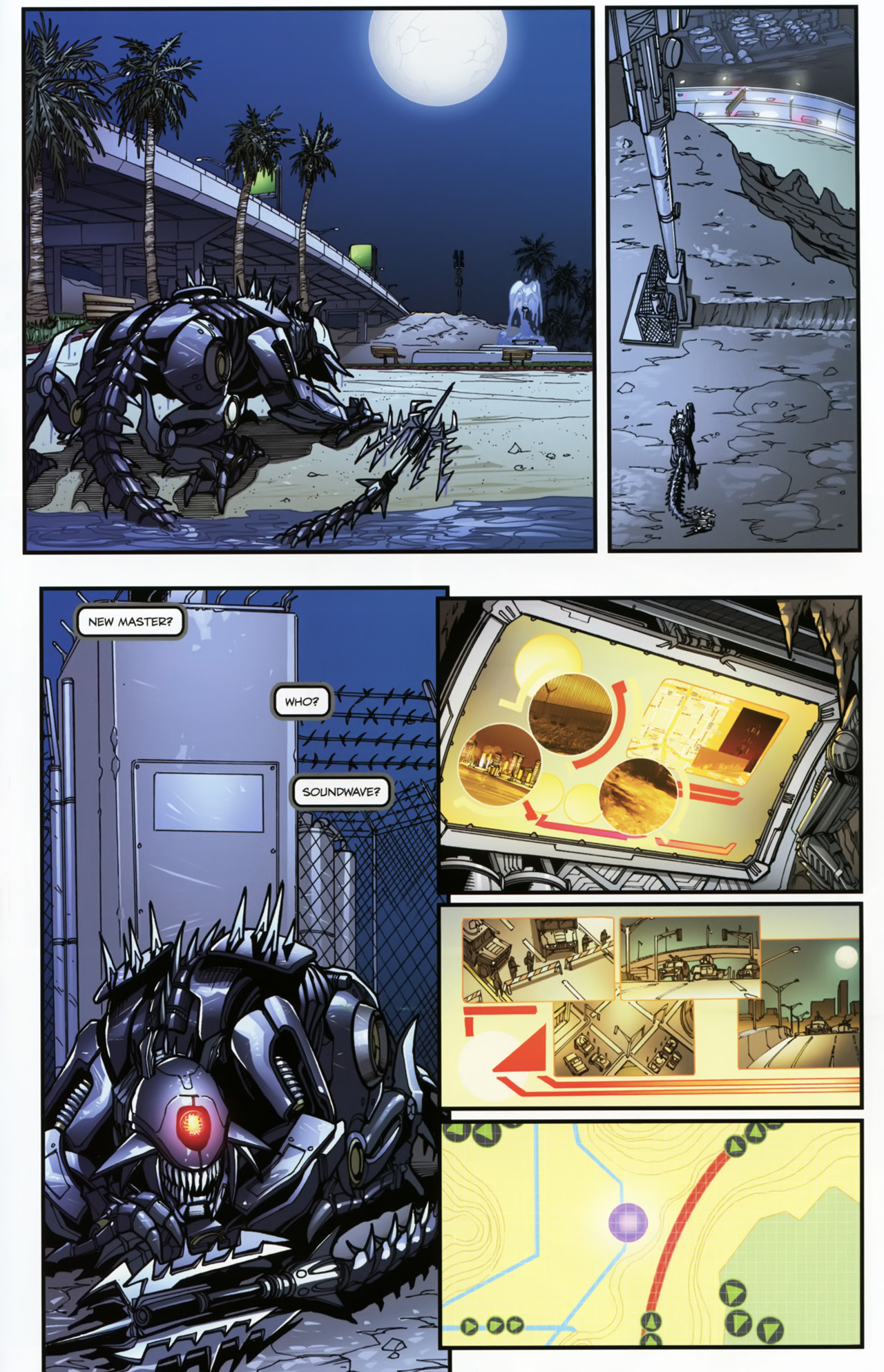 Read online Transformers: Tales of The Fallen comic -  Issue #5 - 11