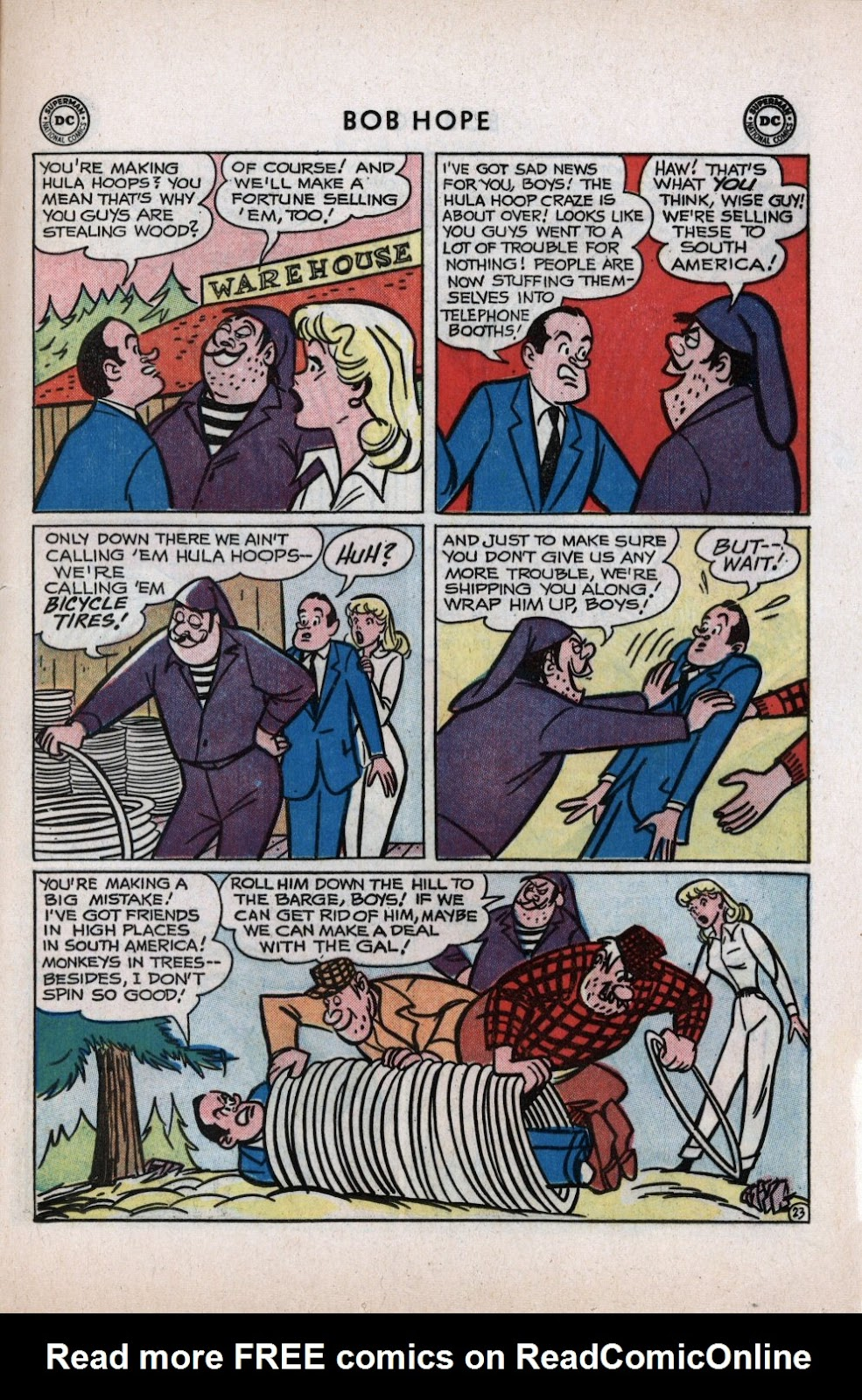 The Adventures of Bob Hope issue 59 - Page 29