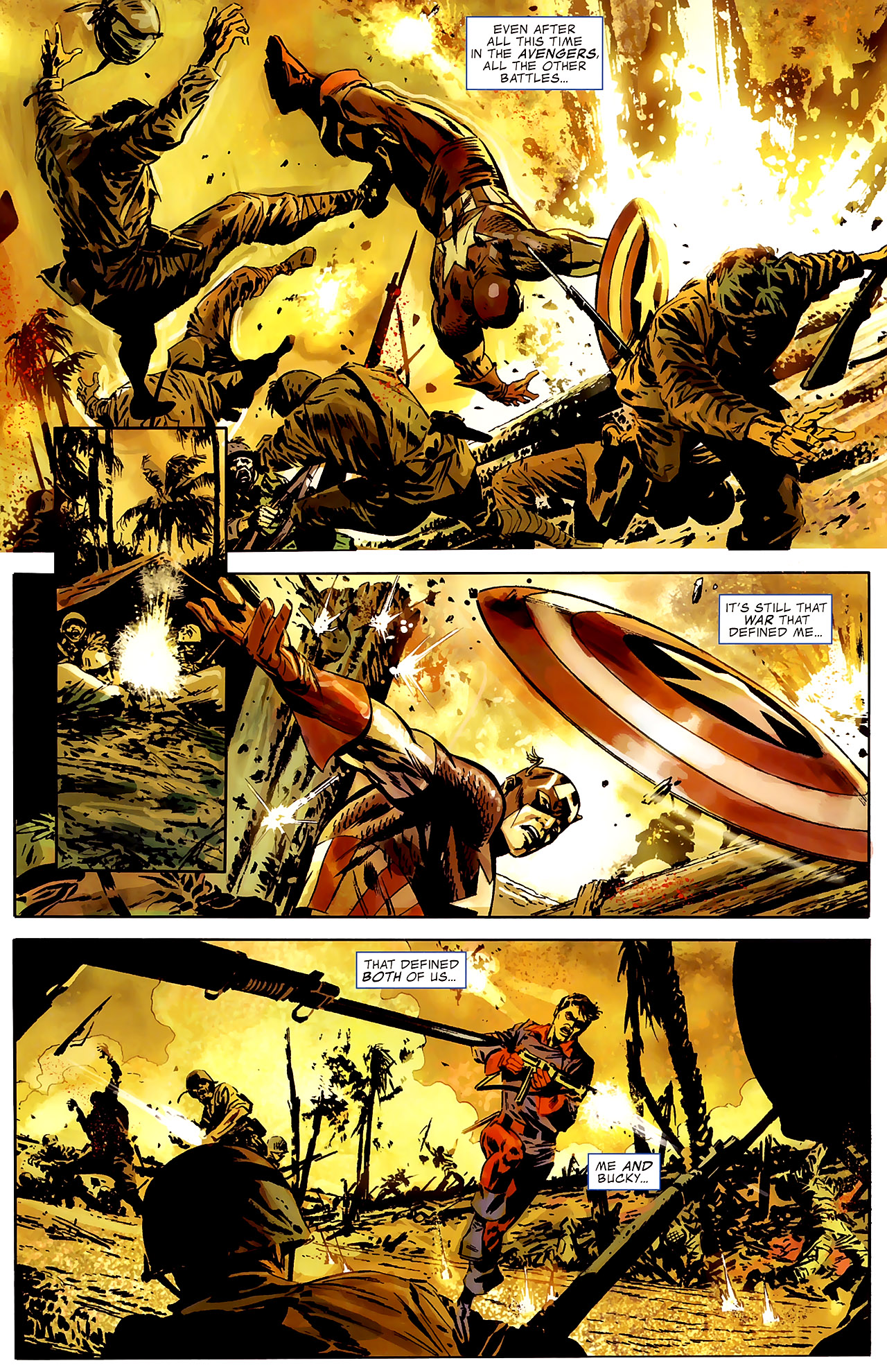 Read online Captain America Reborn: Who Will Wield the Shield? comic -  Issue # Full - 4
