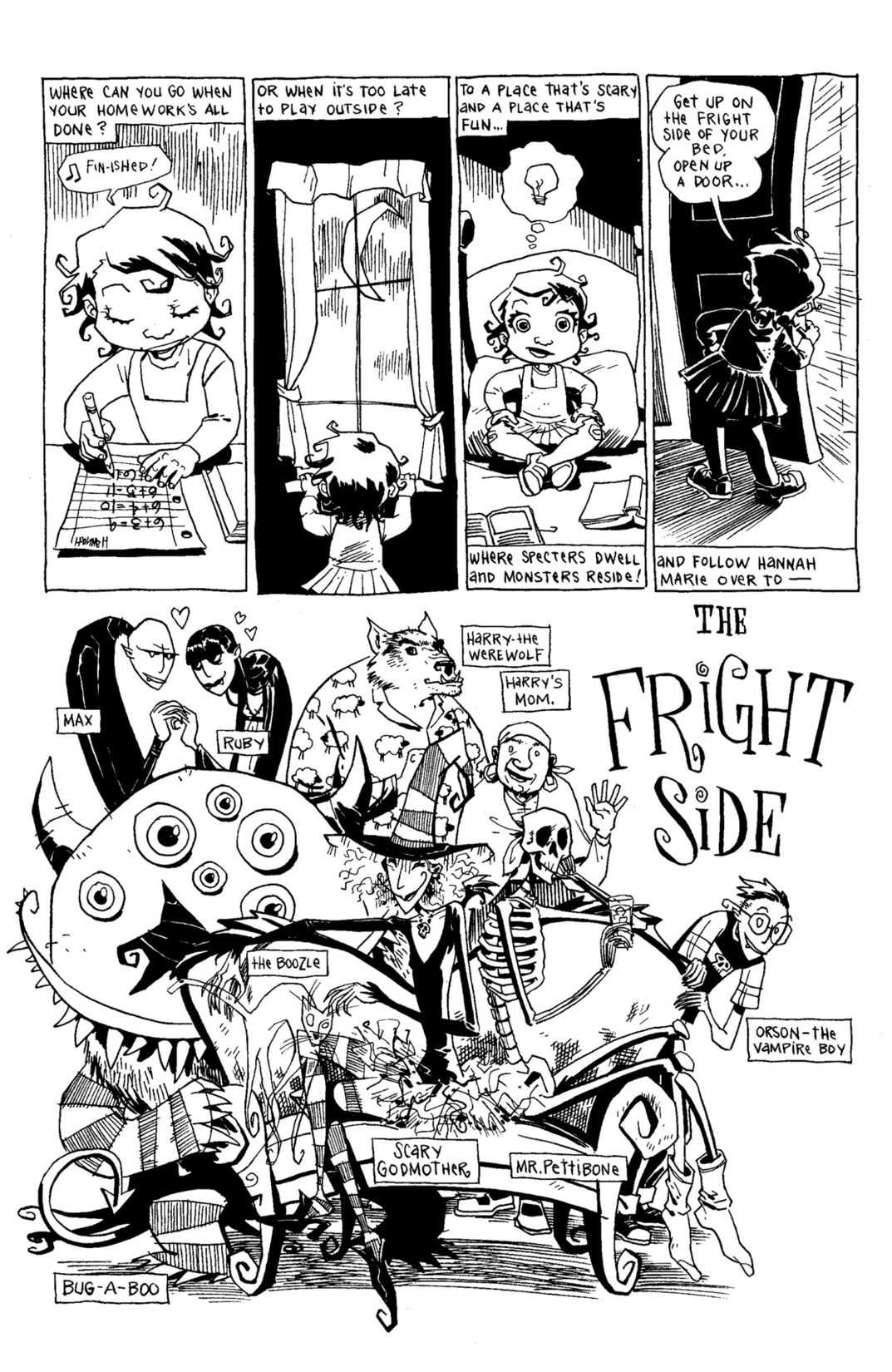 Read online Scary Godmother Comic Book Stories comic -  Issue # TPB - 48