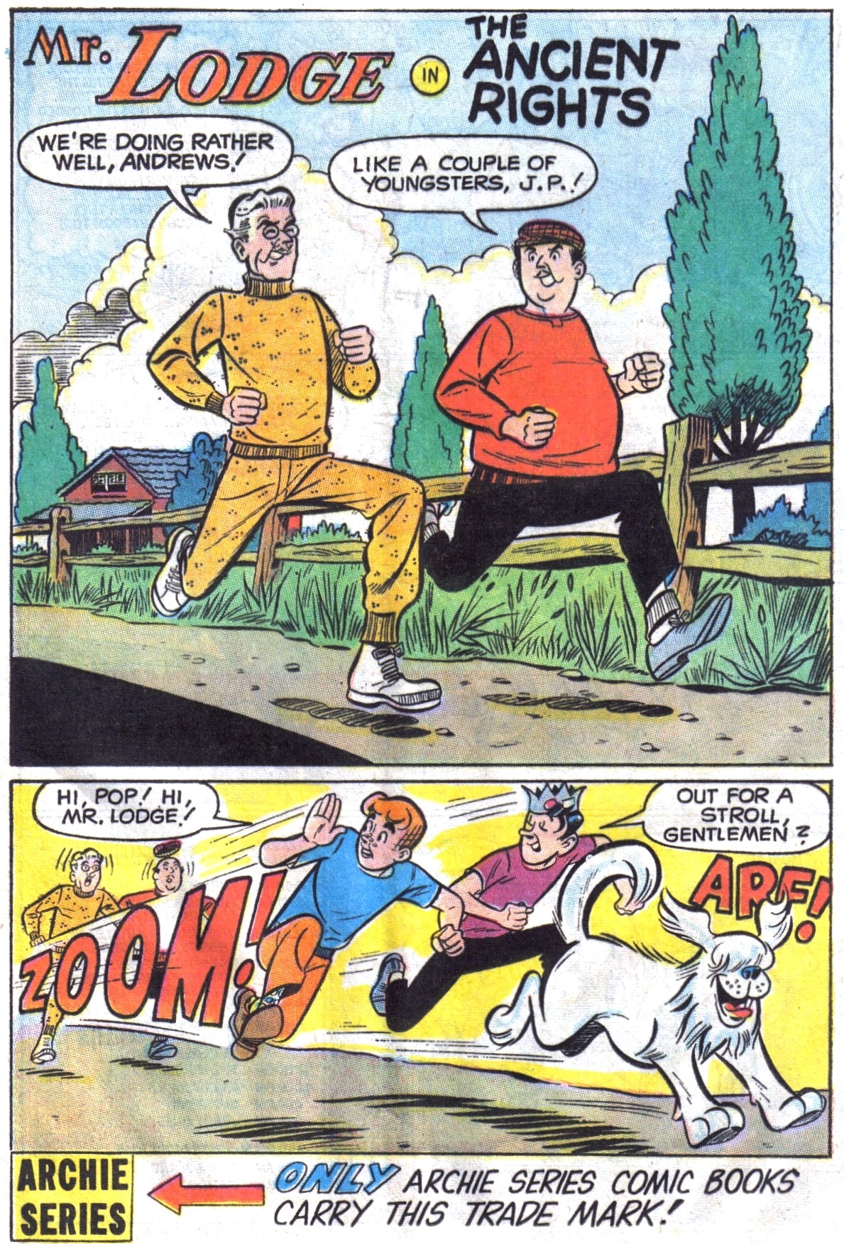 Read online Archie (1960) comic -  Issue #195 - 20