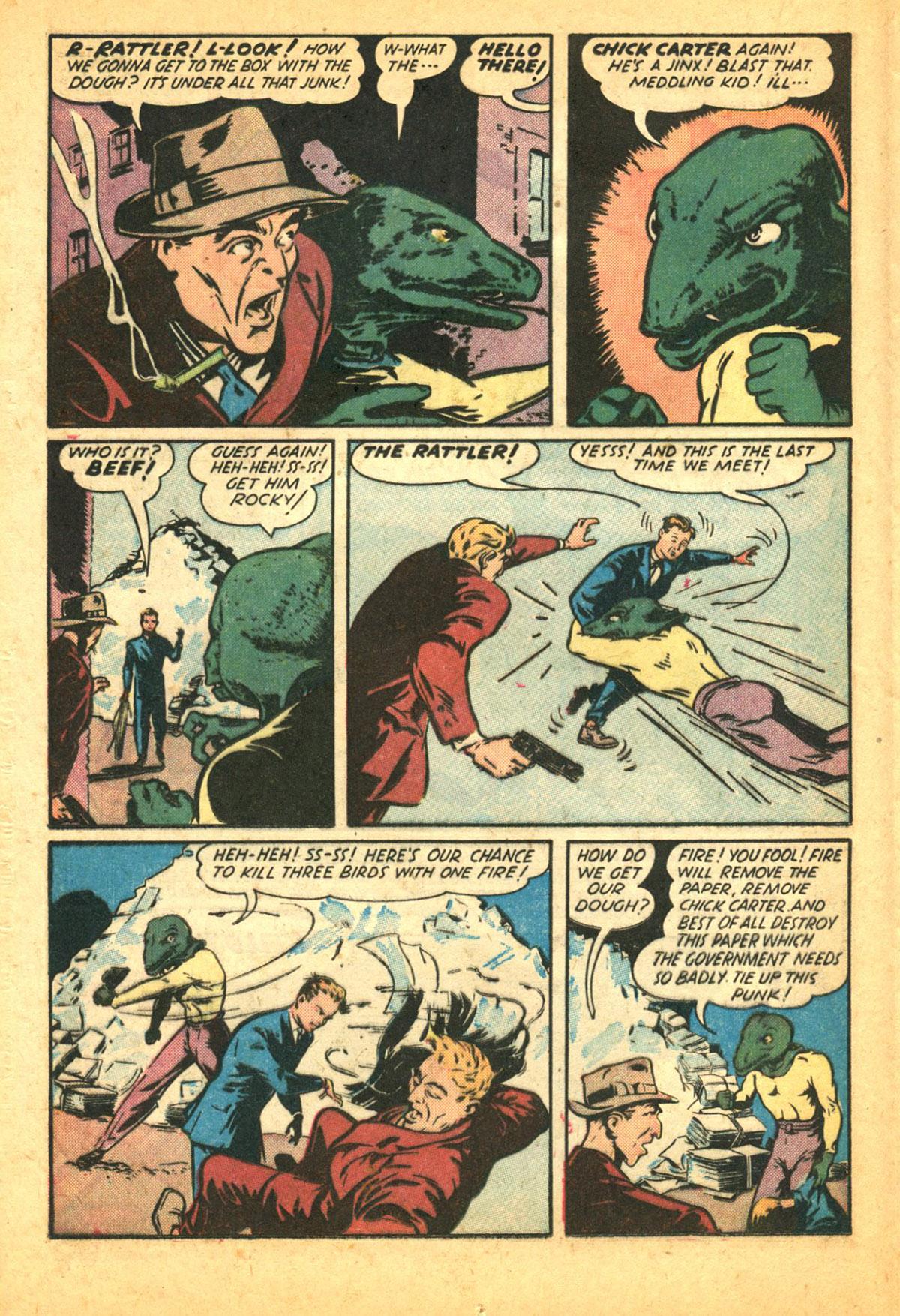 Read online Shadow Comics comic -  Issue #38 - 30