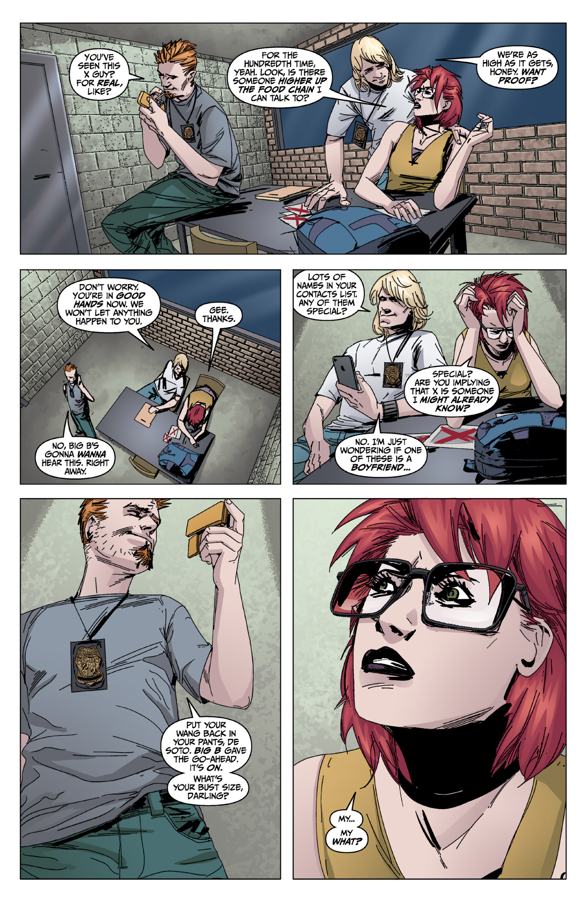 Read online X: Big Bad comic -  Issue # Full - 95