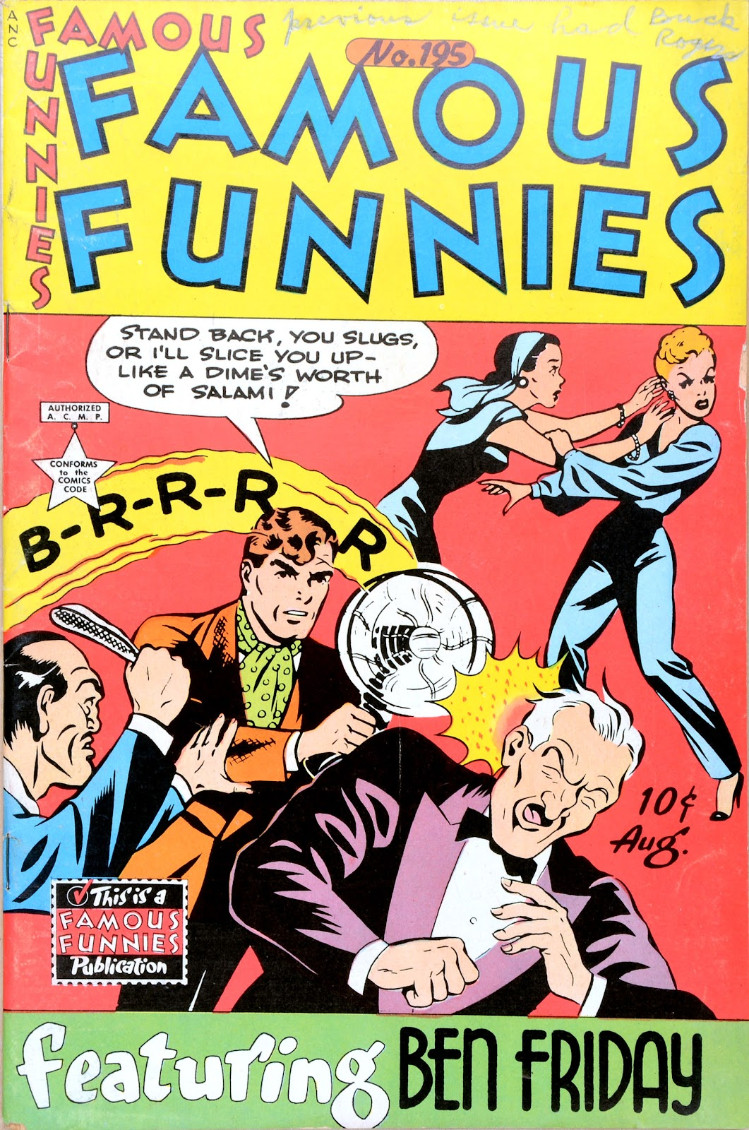 Read online Famous Funnies comic -  Issue #195 - 1
