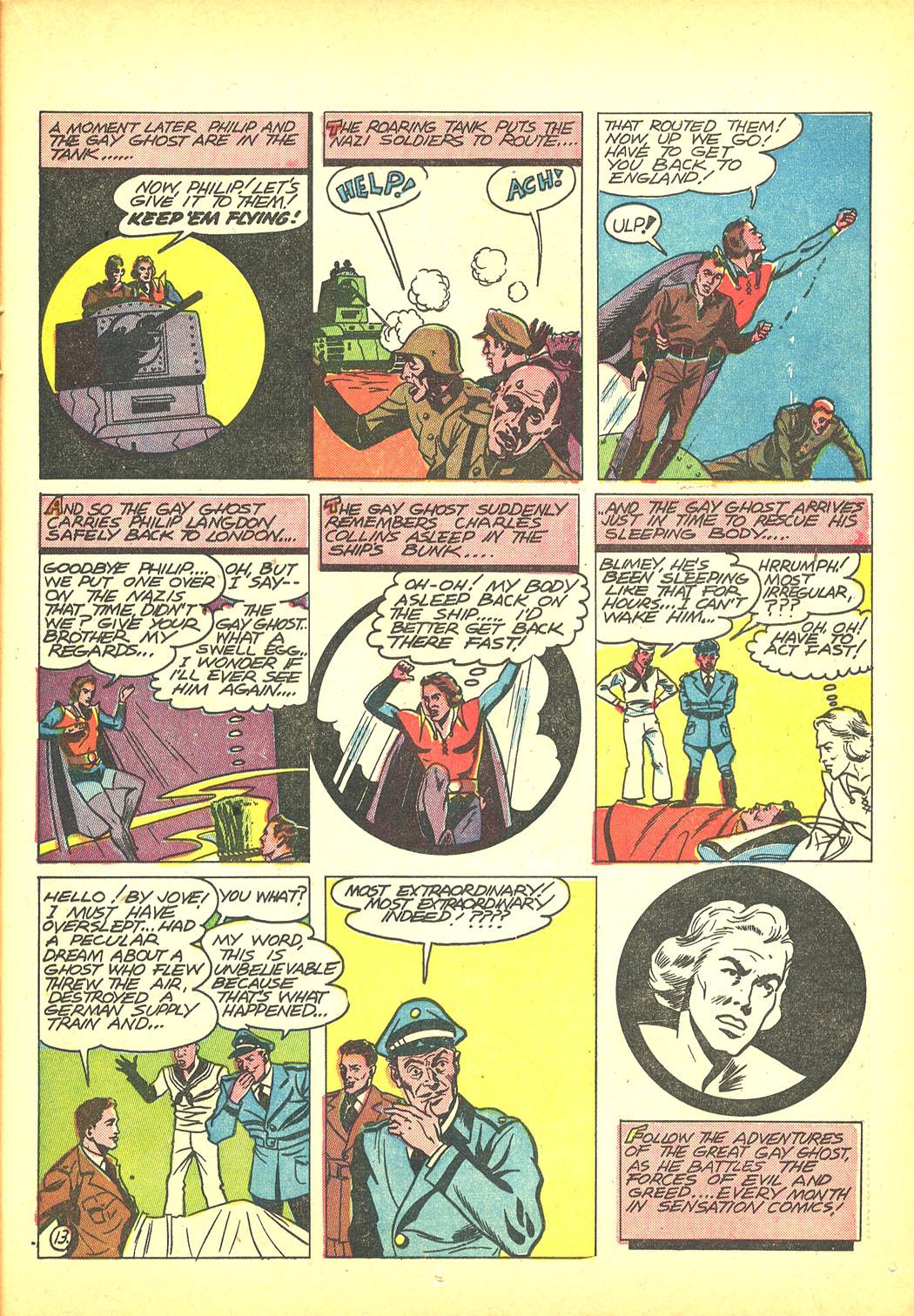 Read online Sensation (Mystery) Comics comic -  Issue #4 - 45