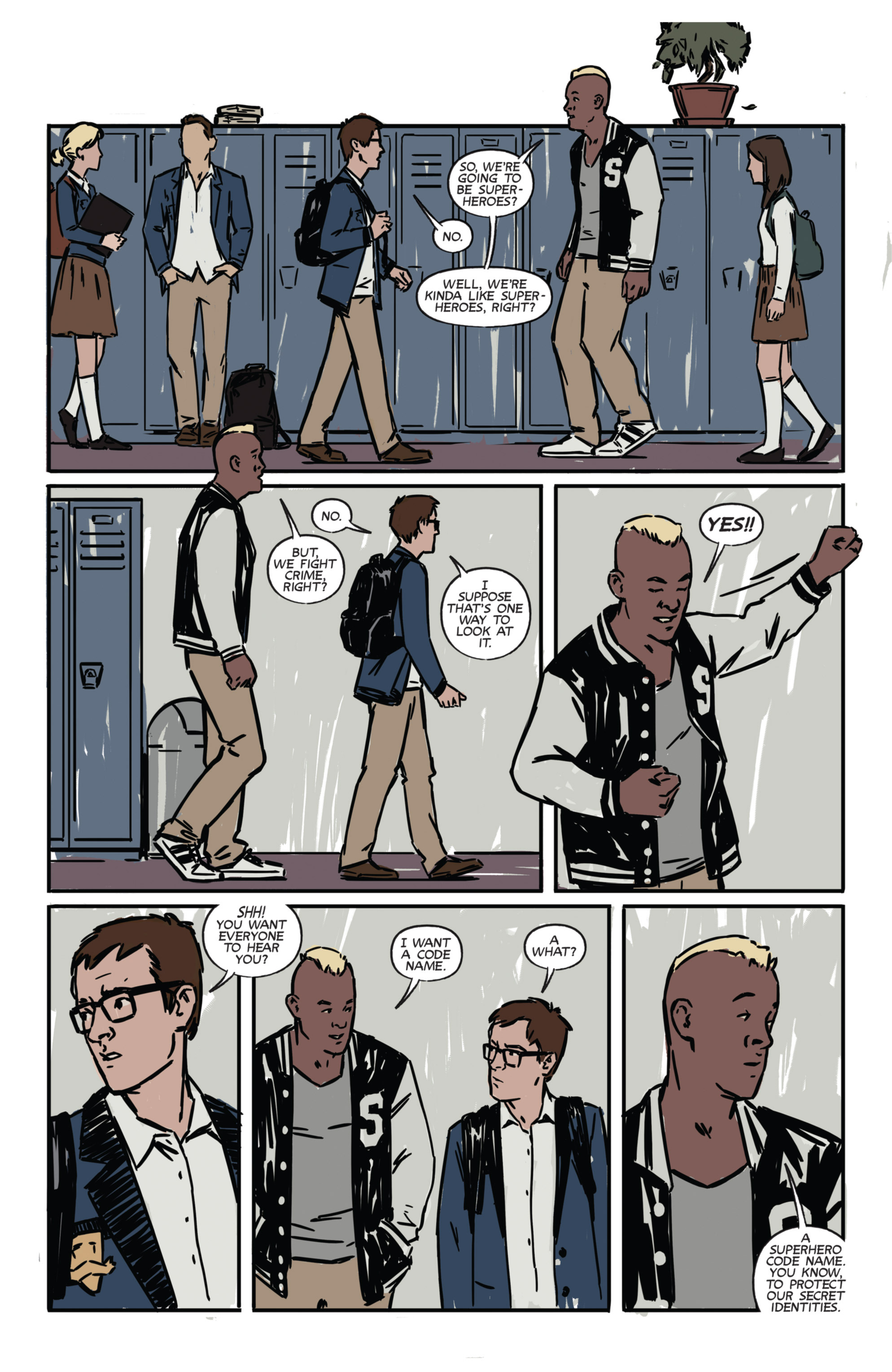 Read online Night Owl Society comic -  Issue #1 - 14