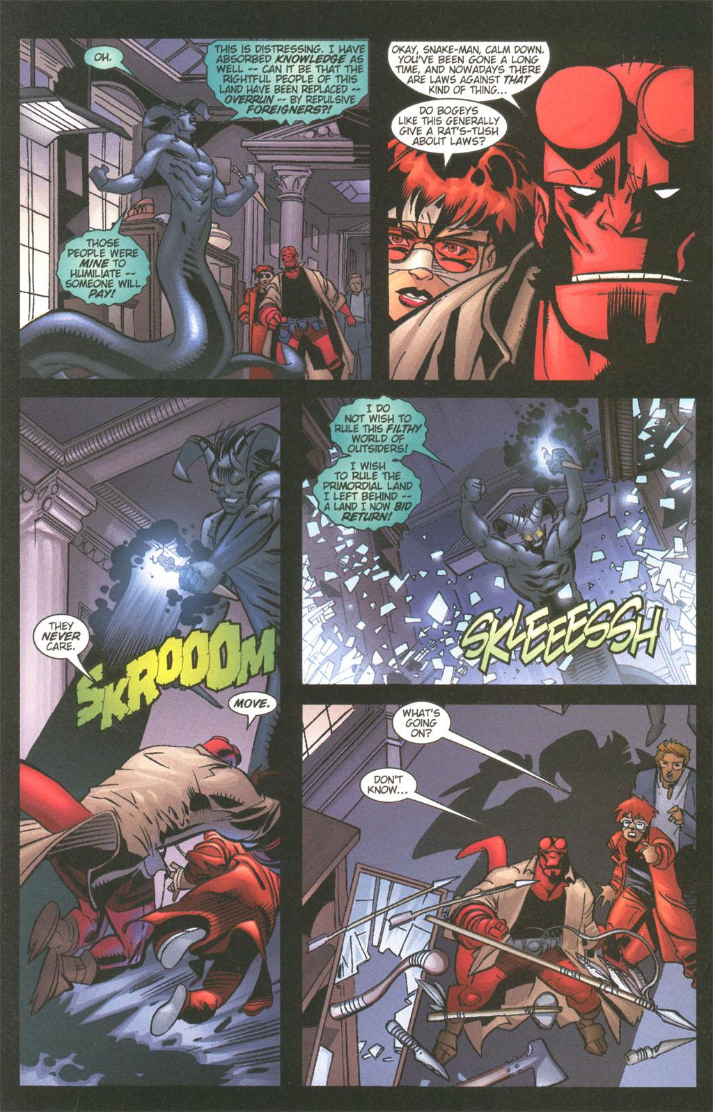 Read online Painkiller Jane/Hellboy comic -  Issue # Full - 12