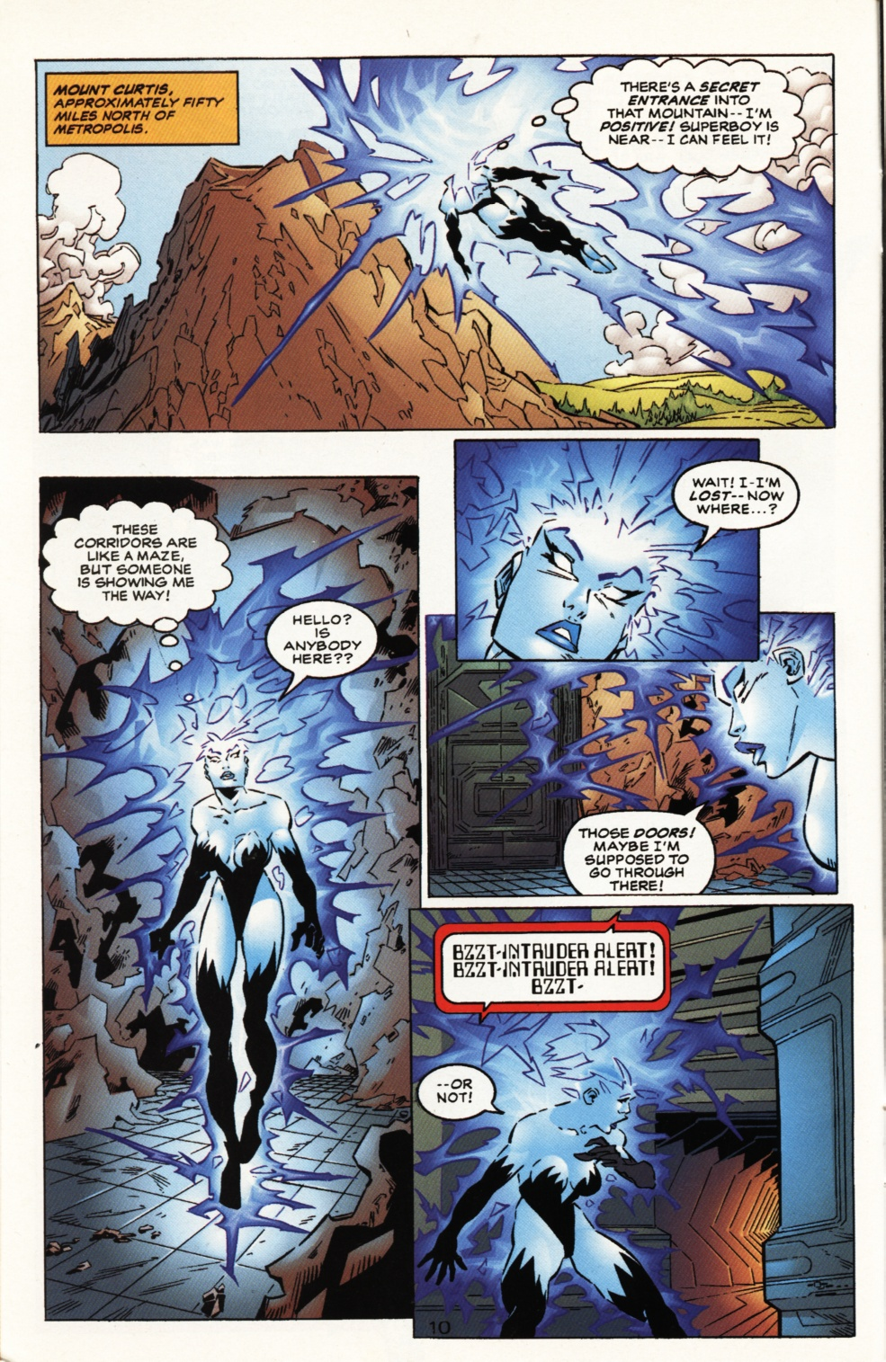 Read online Superboy & The Ravers comic -  Issue #10 - 11