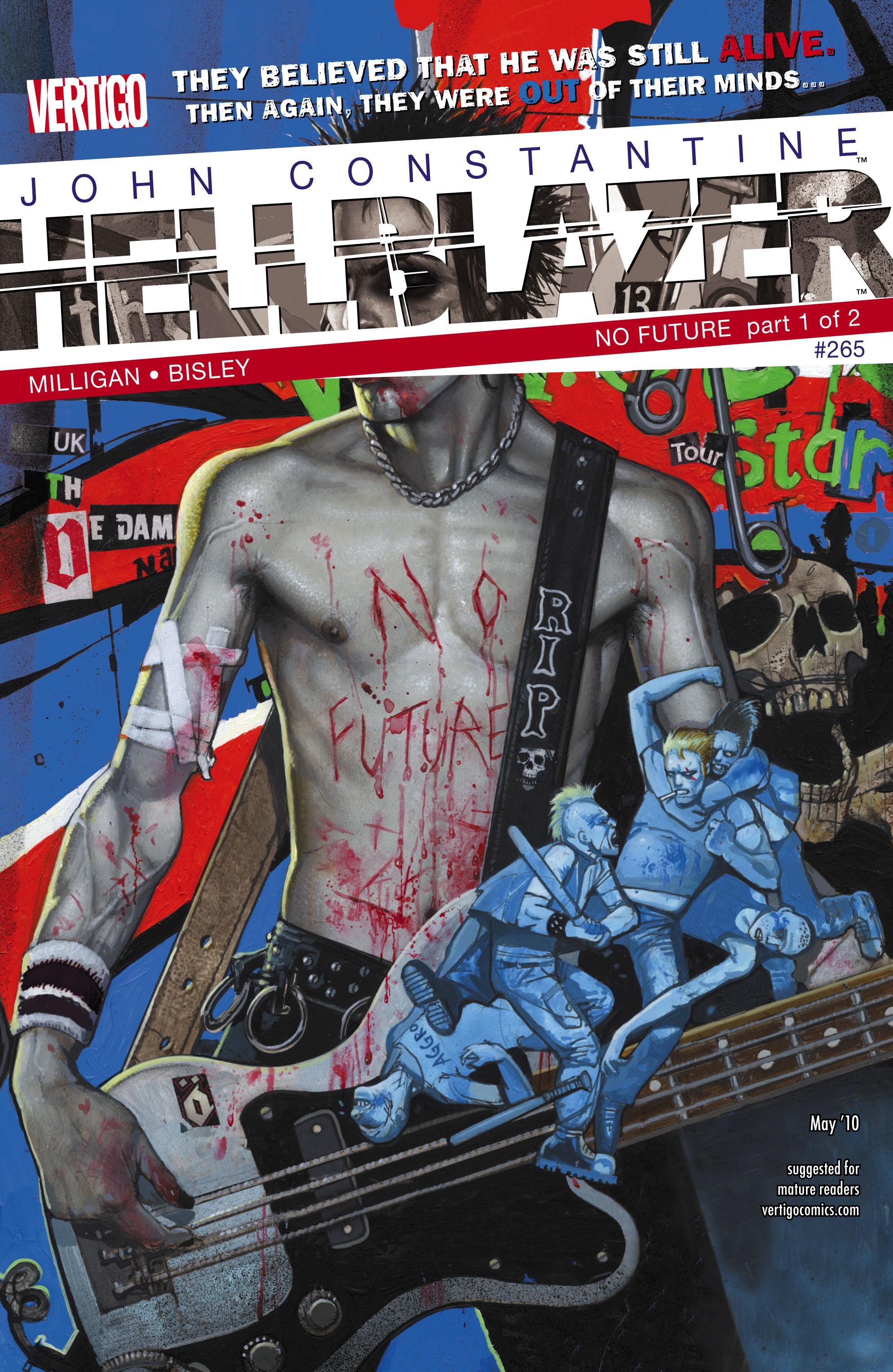 Hellblazer issue 265 - Page 1