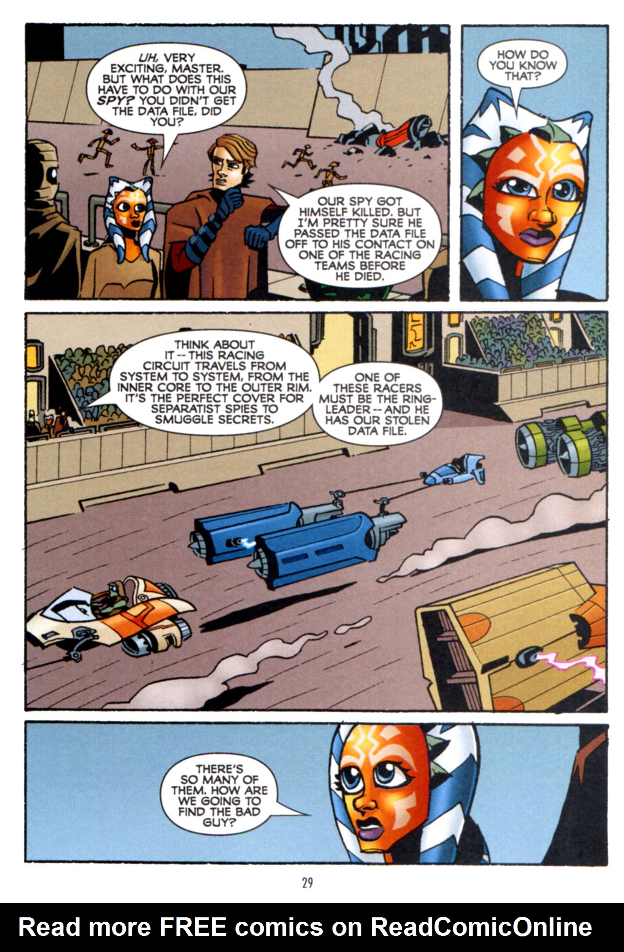Read online Star Wars: The Clone Wars - Crash Course comic -  Issue # Full - 30
