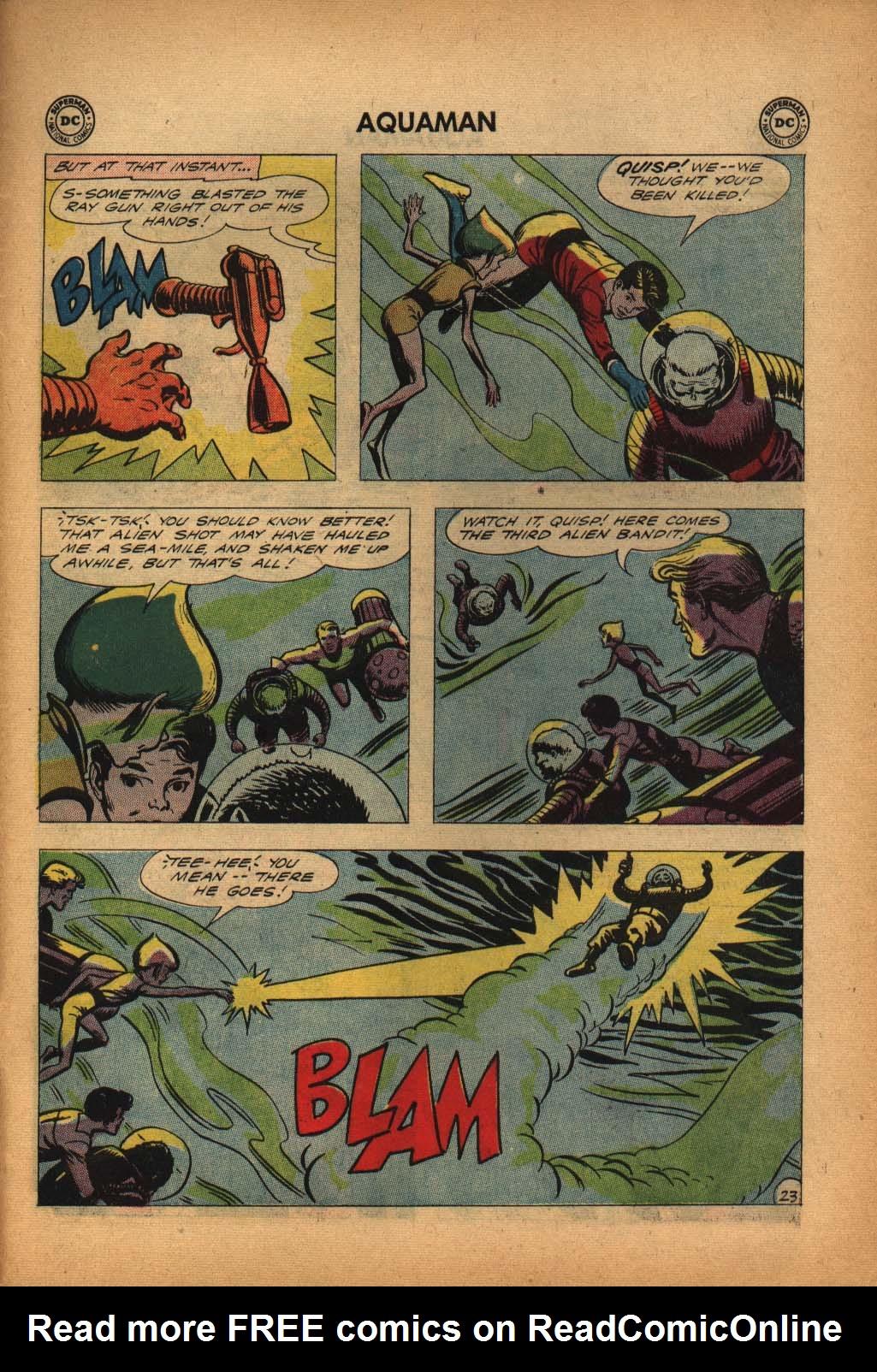 Read online Aquaman (1962) comic -  Issue #4 - 31