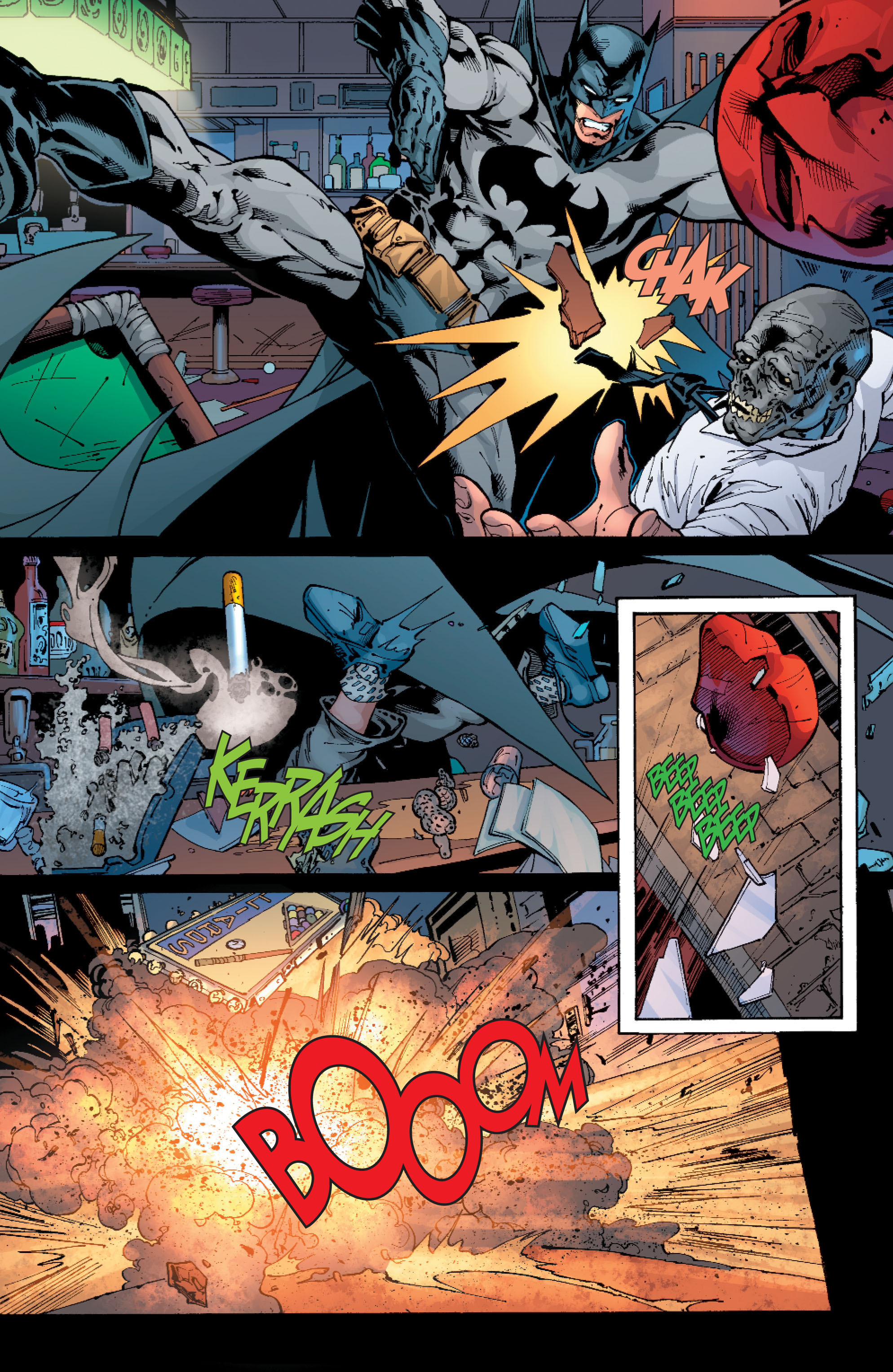 Read online Batman: Under The Red Hood comic -  Issue # Full - 277
