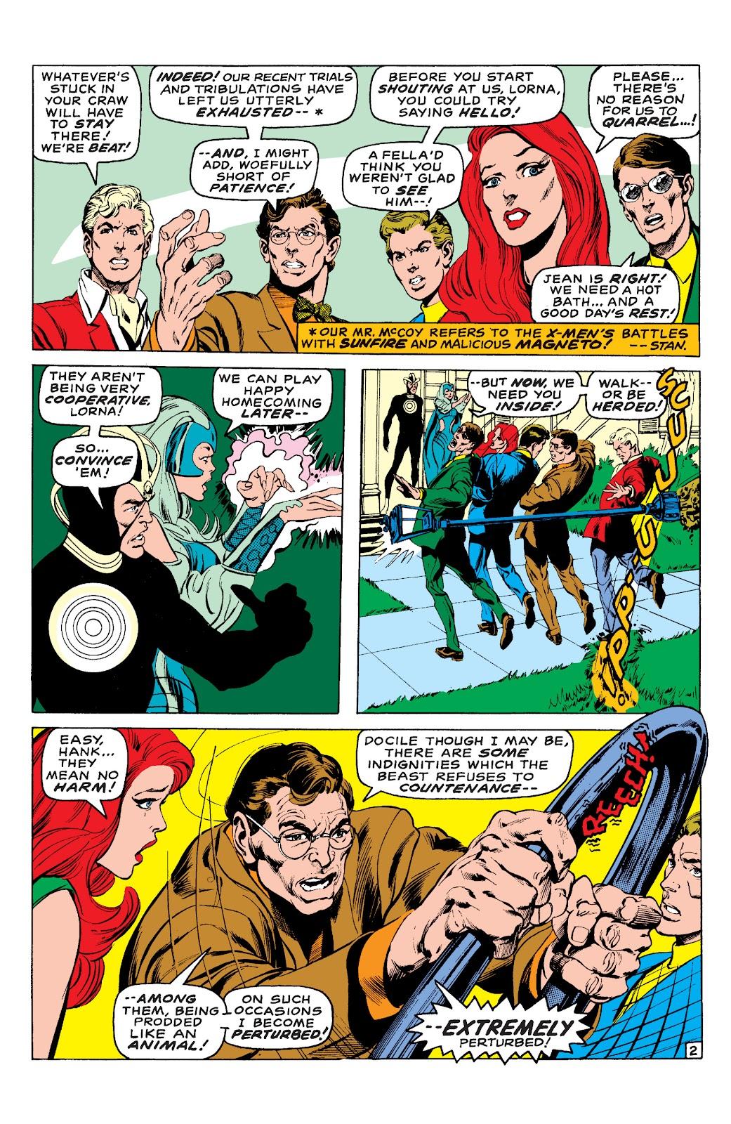 Uncanny X-Men (1963) issue 65 - Page 3