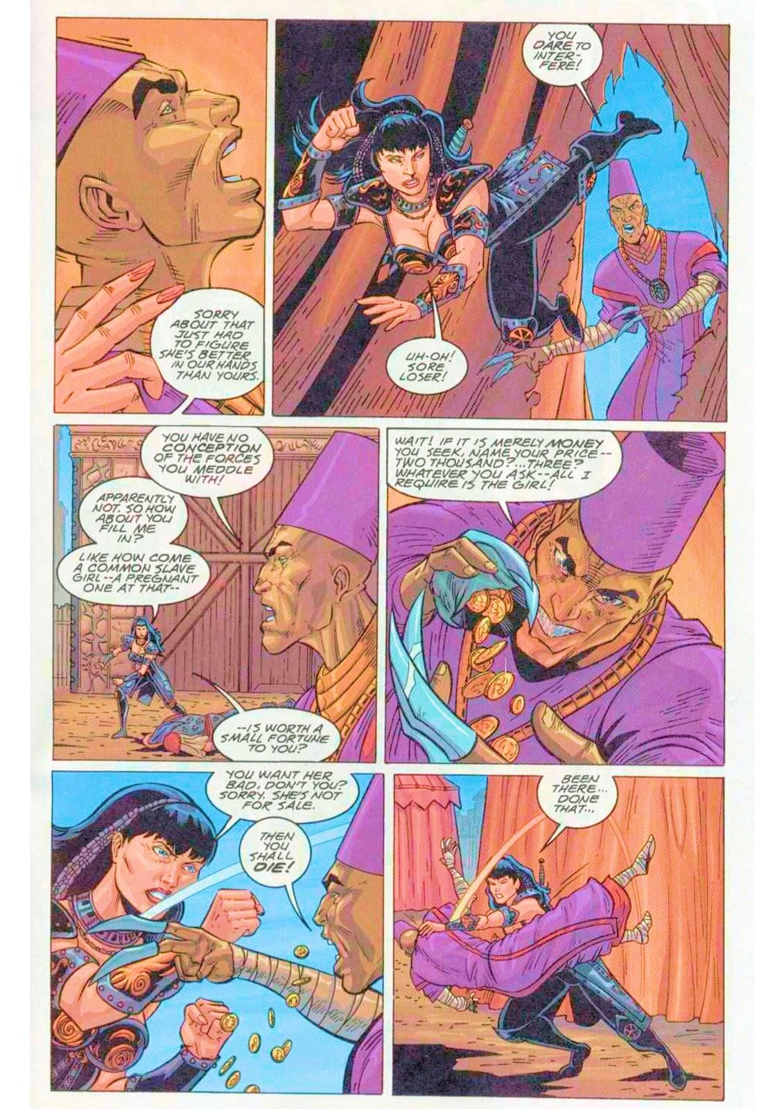 Xena: Warrior Princess (1999) Issue #4 #4 - English 17