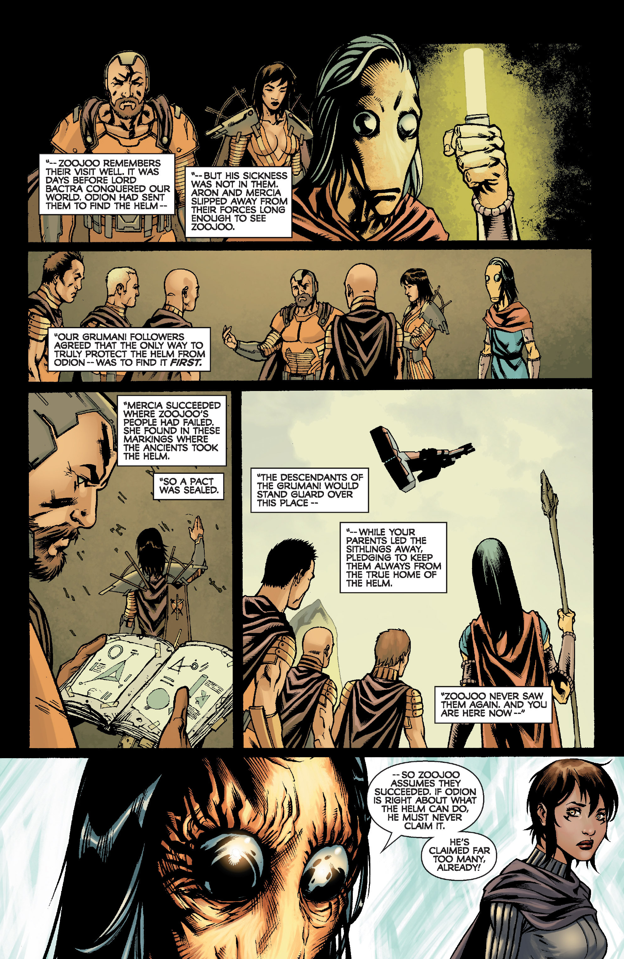 Read online Star Wars: Knight Errant - Escape comic -  Issue #2 - 16