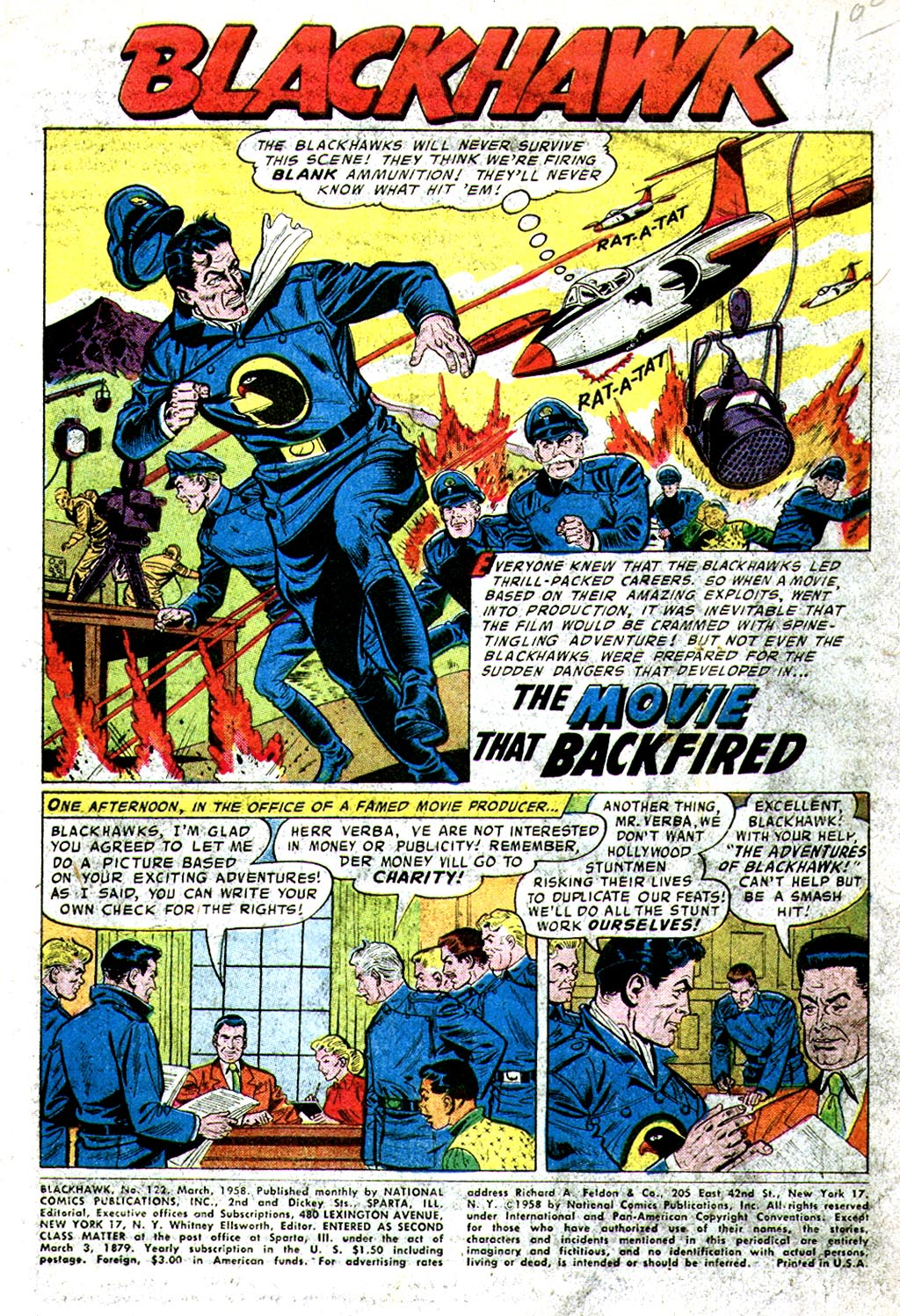 Blackhawk v1 122 | Viewcomic reading comics online for free 2019