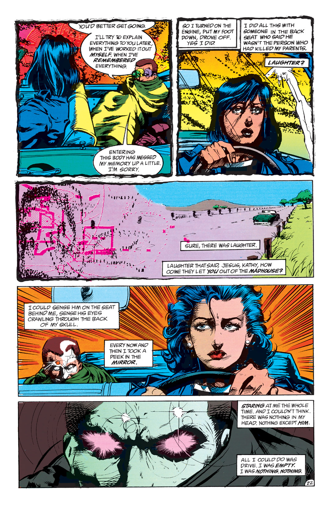 Read online Shade, the Changing Man comic -  Issue #1 - 24