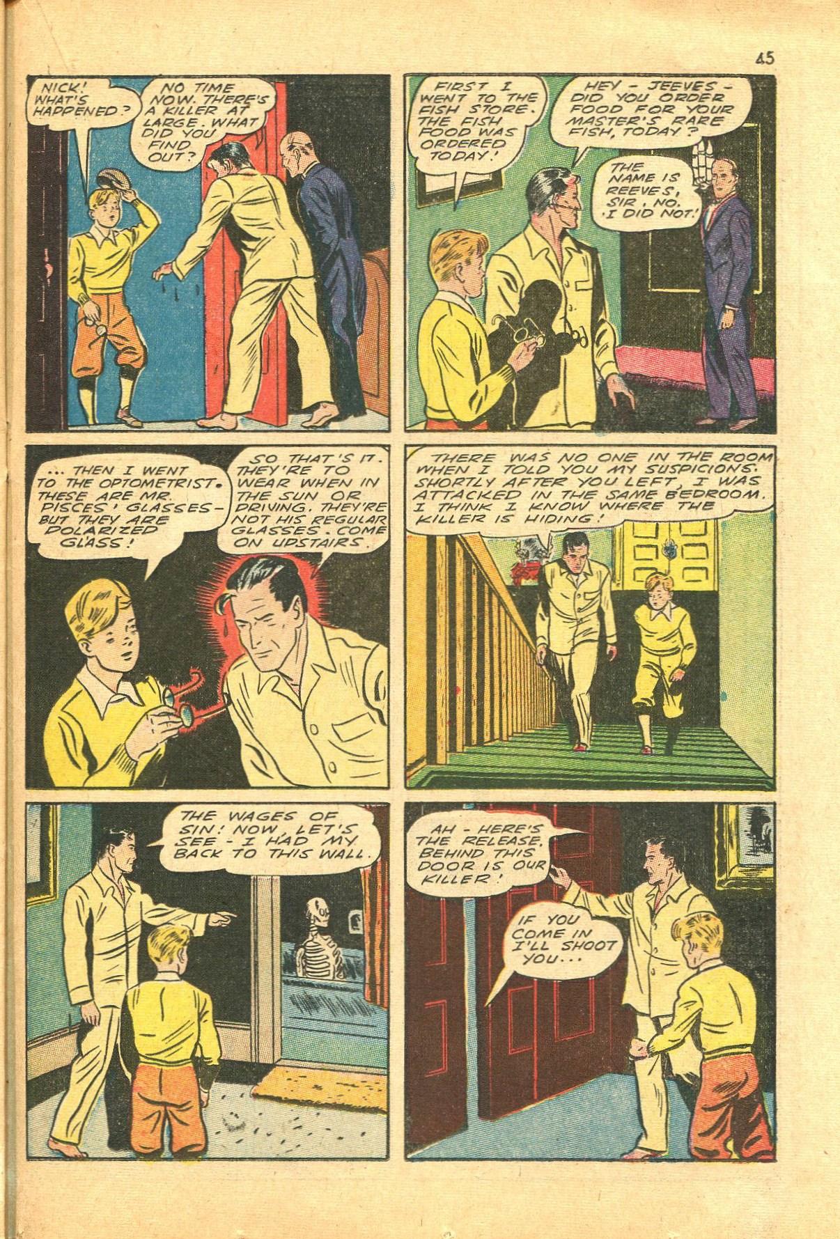 Read online Shadow Comics comic -  Issue #24 - 37