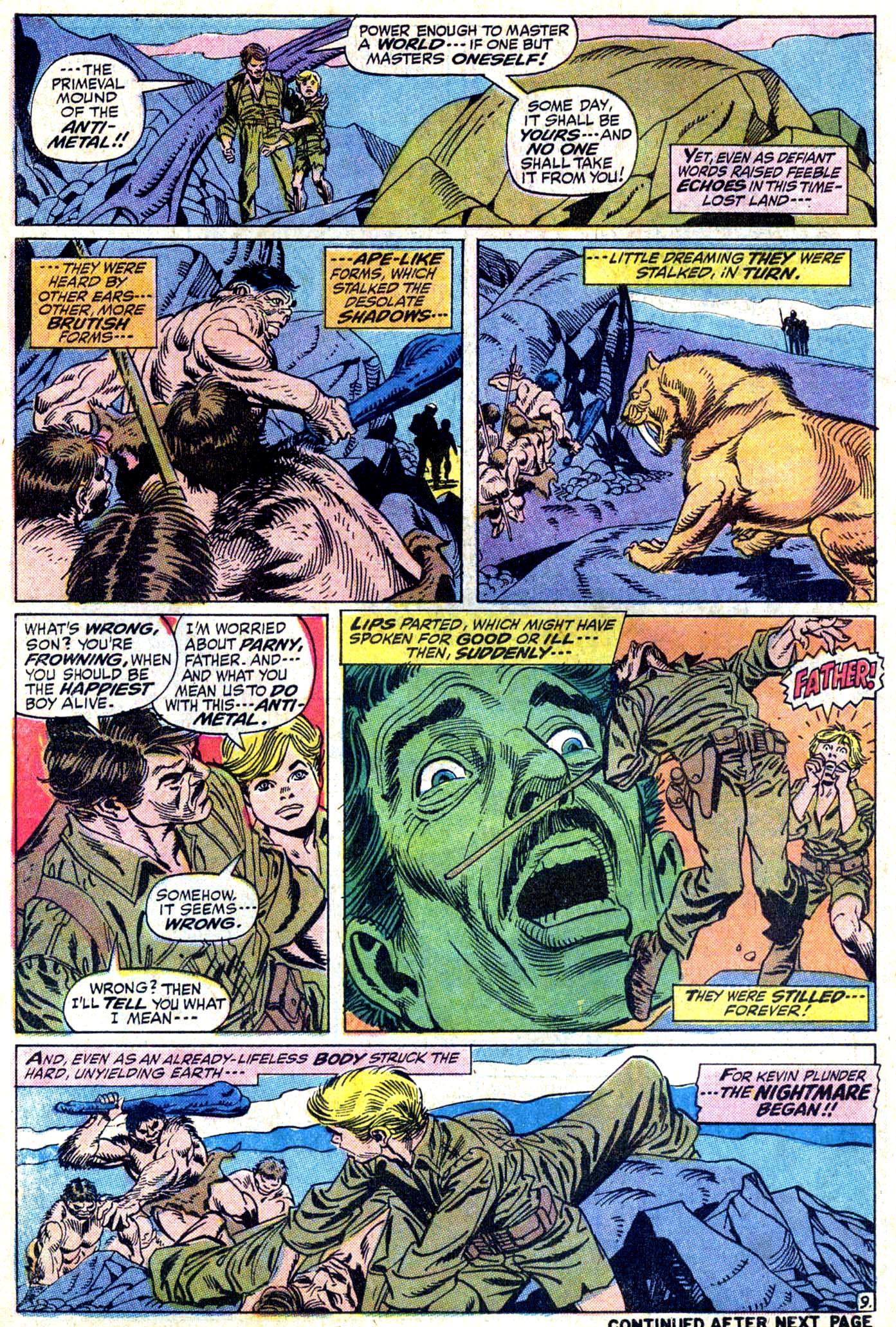 Read online Astonishing Tales (1970) comic -  Issue #11 - 10