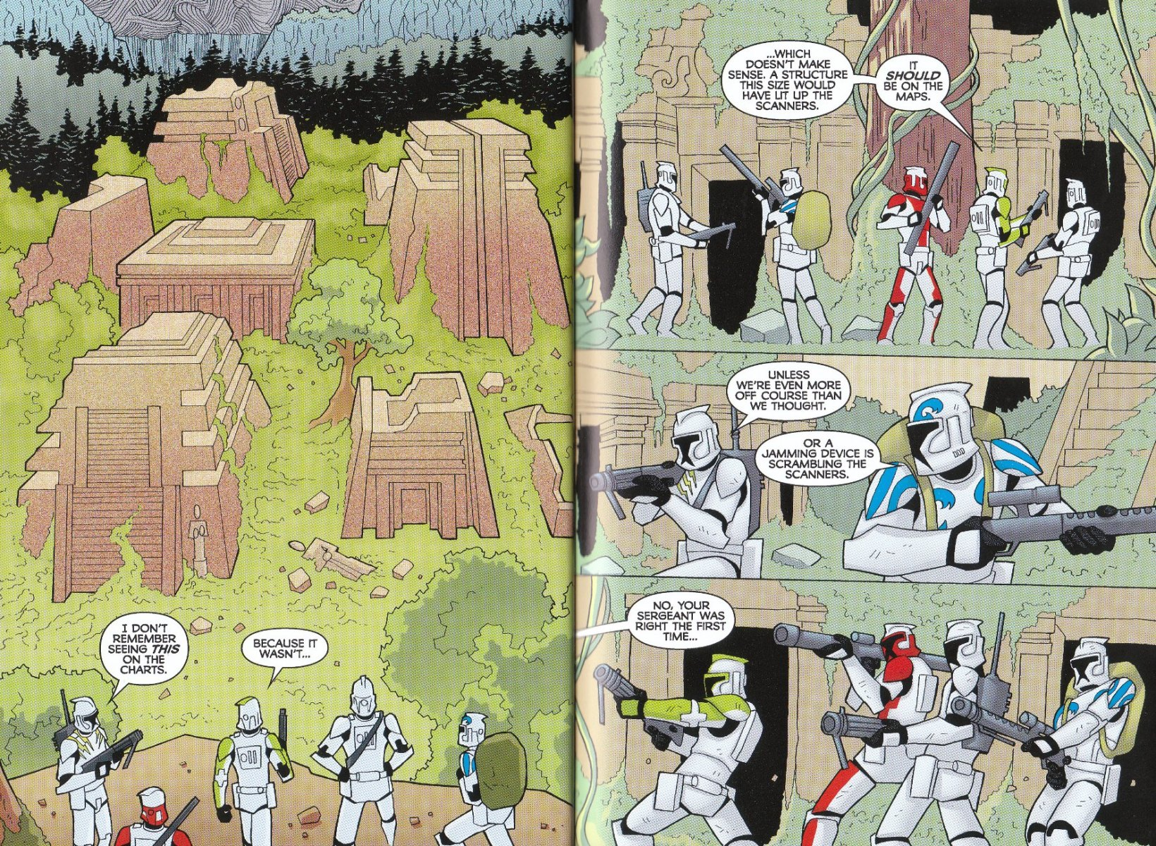 Read online Star Wars: The Clone Wars - The Enemy Within comic -  Issue # Full - 20