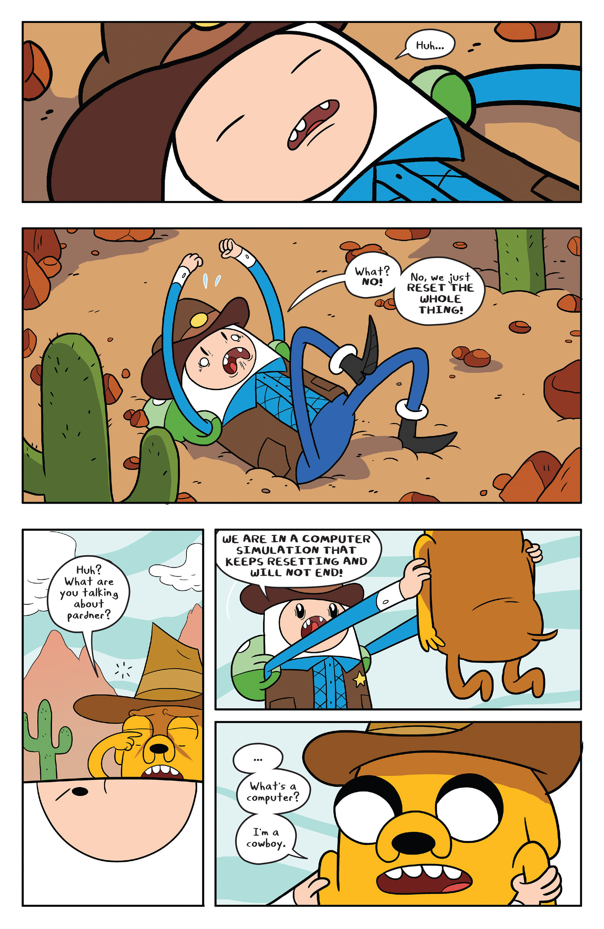 Read online Adventure Time comic -  Issue #56 - 22