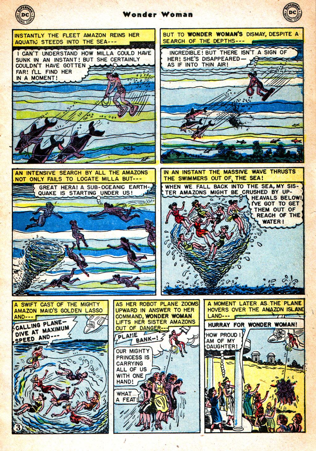 Read online Wonder Woman (1942) comic -  Issue #57 - 4