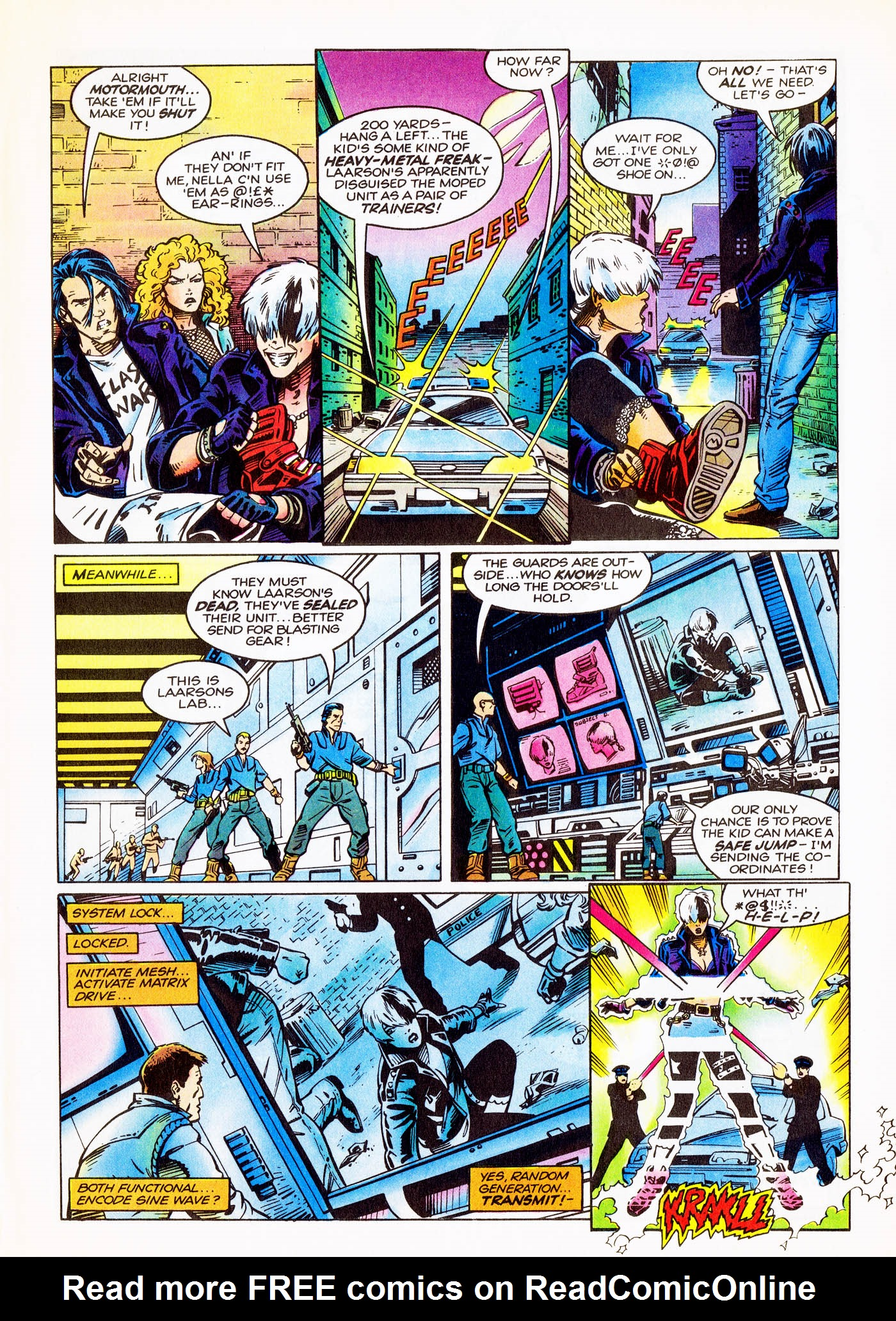 Read online Overkill comic -  Issue #1 - 32