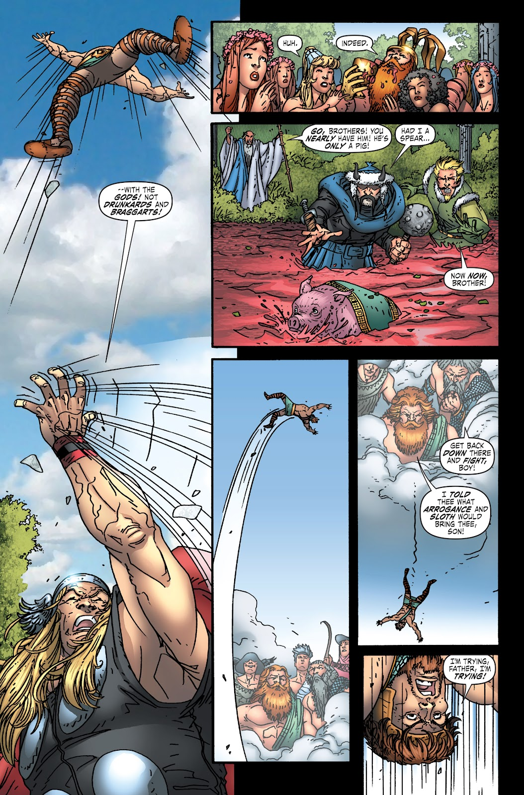 Read online Thor: Ragnaroks comic -  Issue # TPB (Part 1) - 64