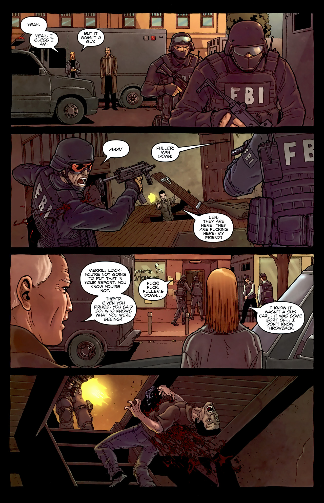Read online Alan Moore's Neonomicon comic -  Issue #4 - 10
