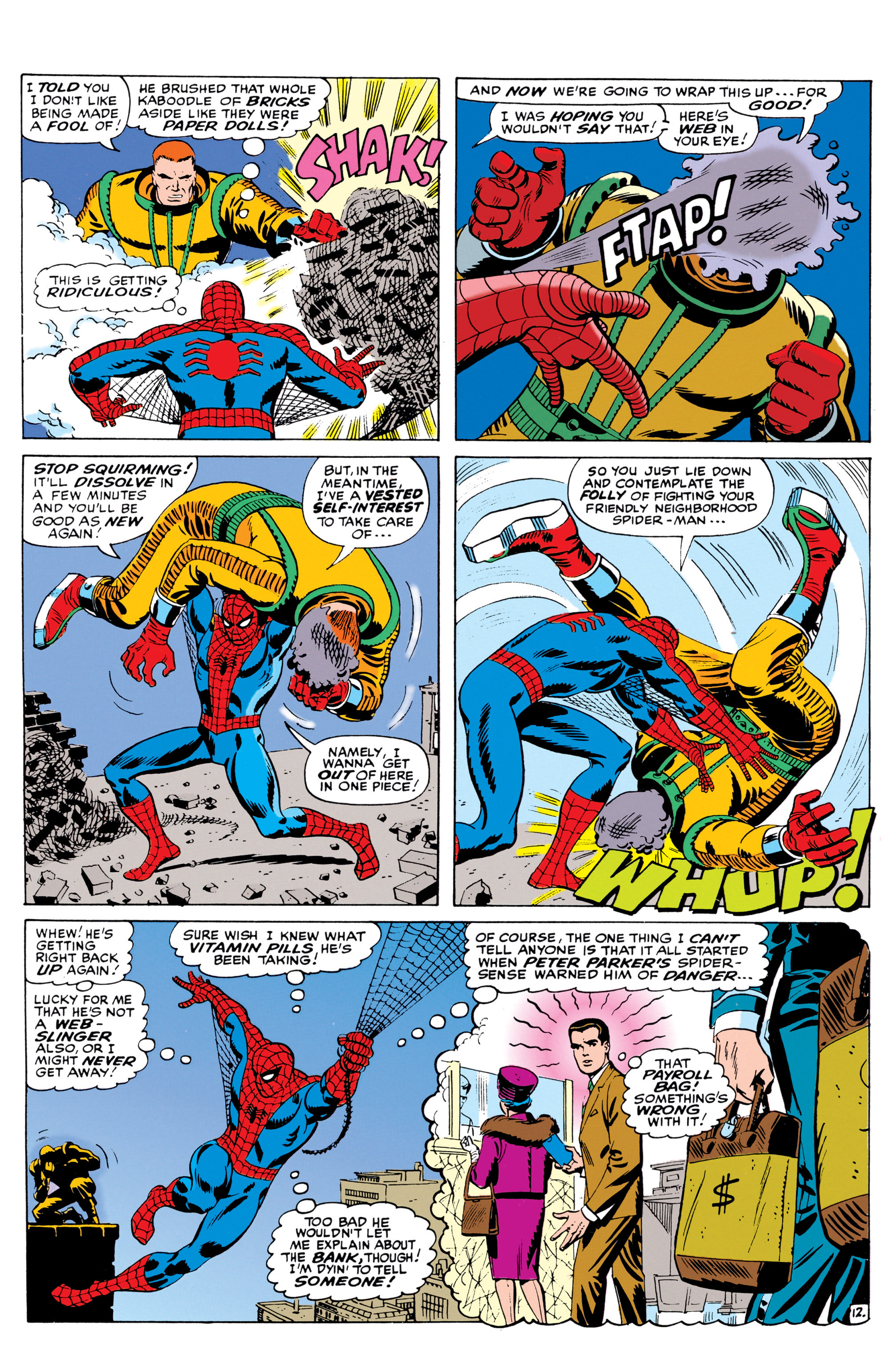 The Amazing Spider-Man (1963) 42 Page 12