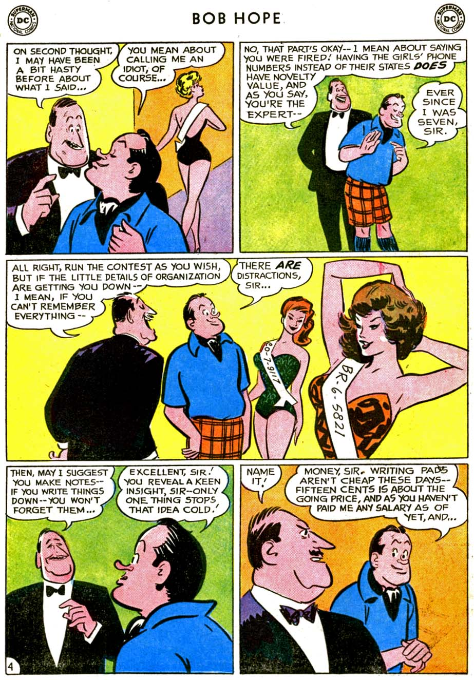 The Adventures of Bob Hope issue 72 - Page 6