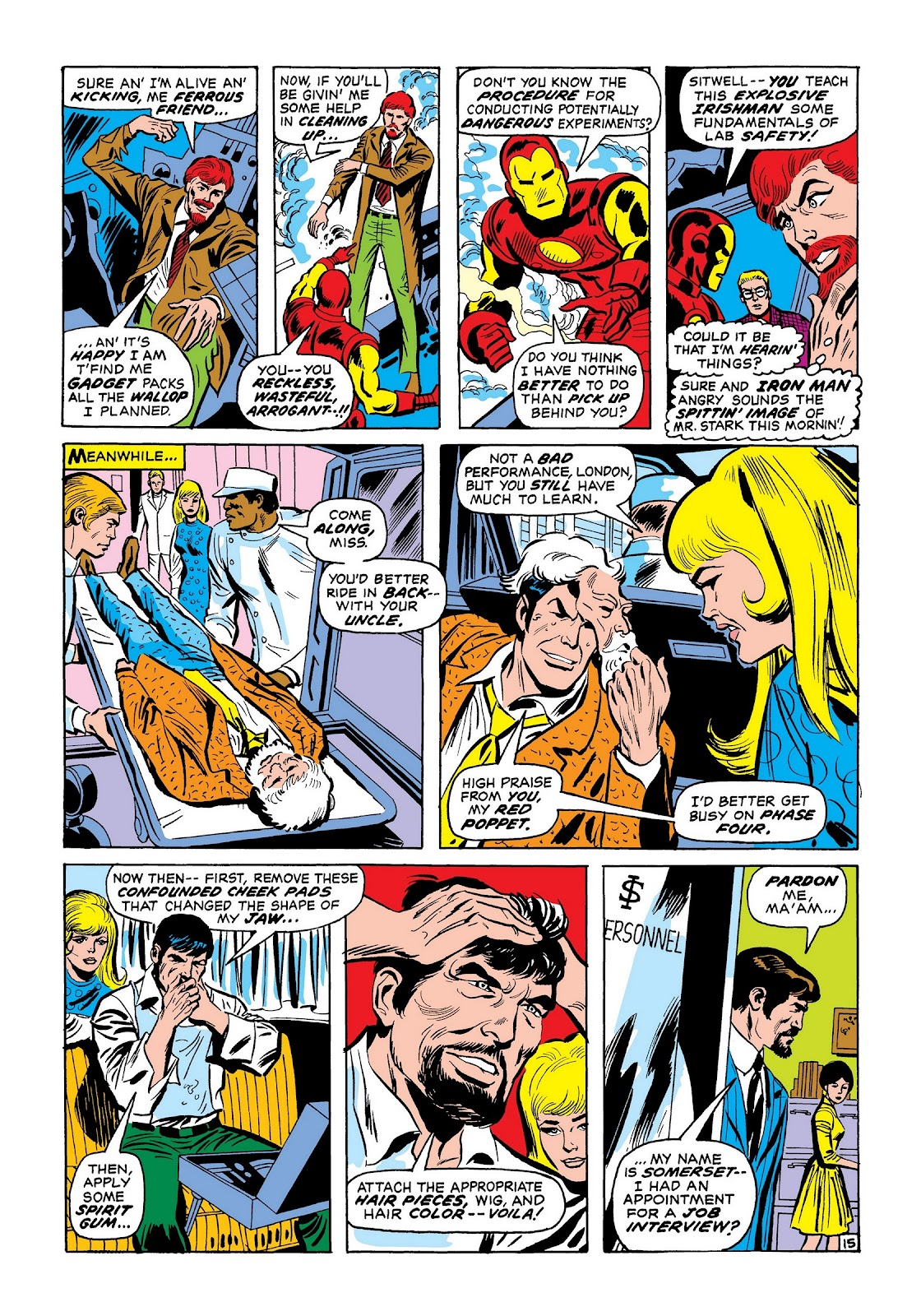 Read online Marvel Masterworks: The Invincible Iron Man comic -  Issue # TPB 7 (Part 2) - 63